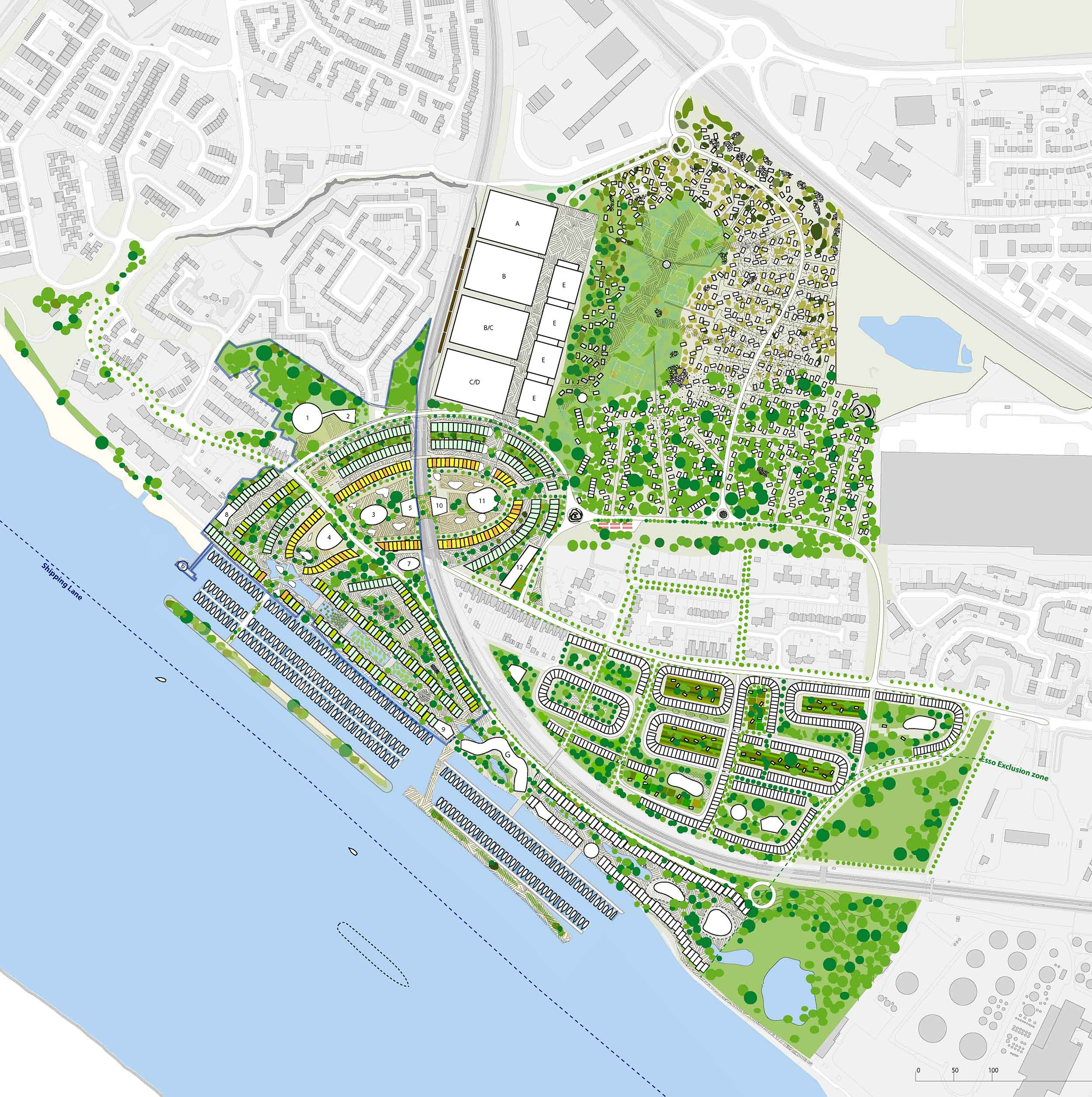 Purfleet masterplan architecture