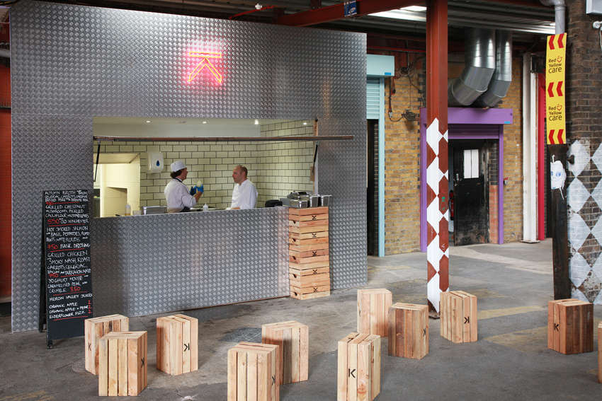 Street Kitchen Meanwhile Architecture