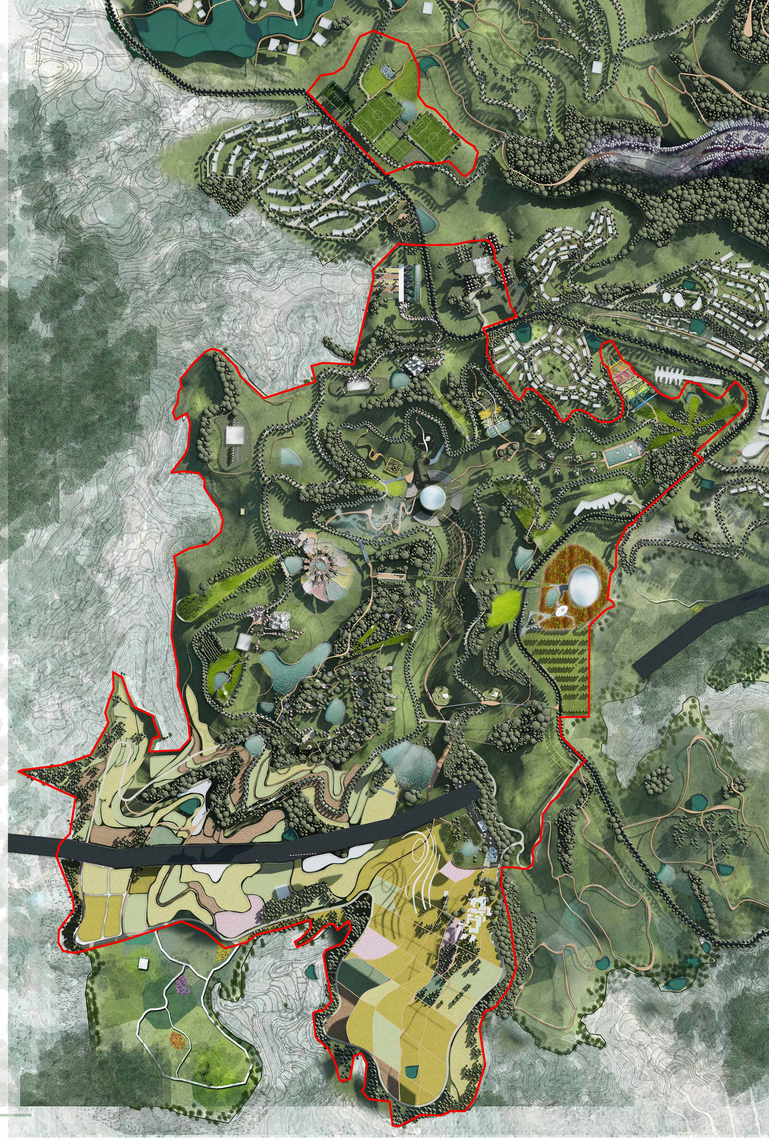 Yubei Landscape Design China
