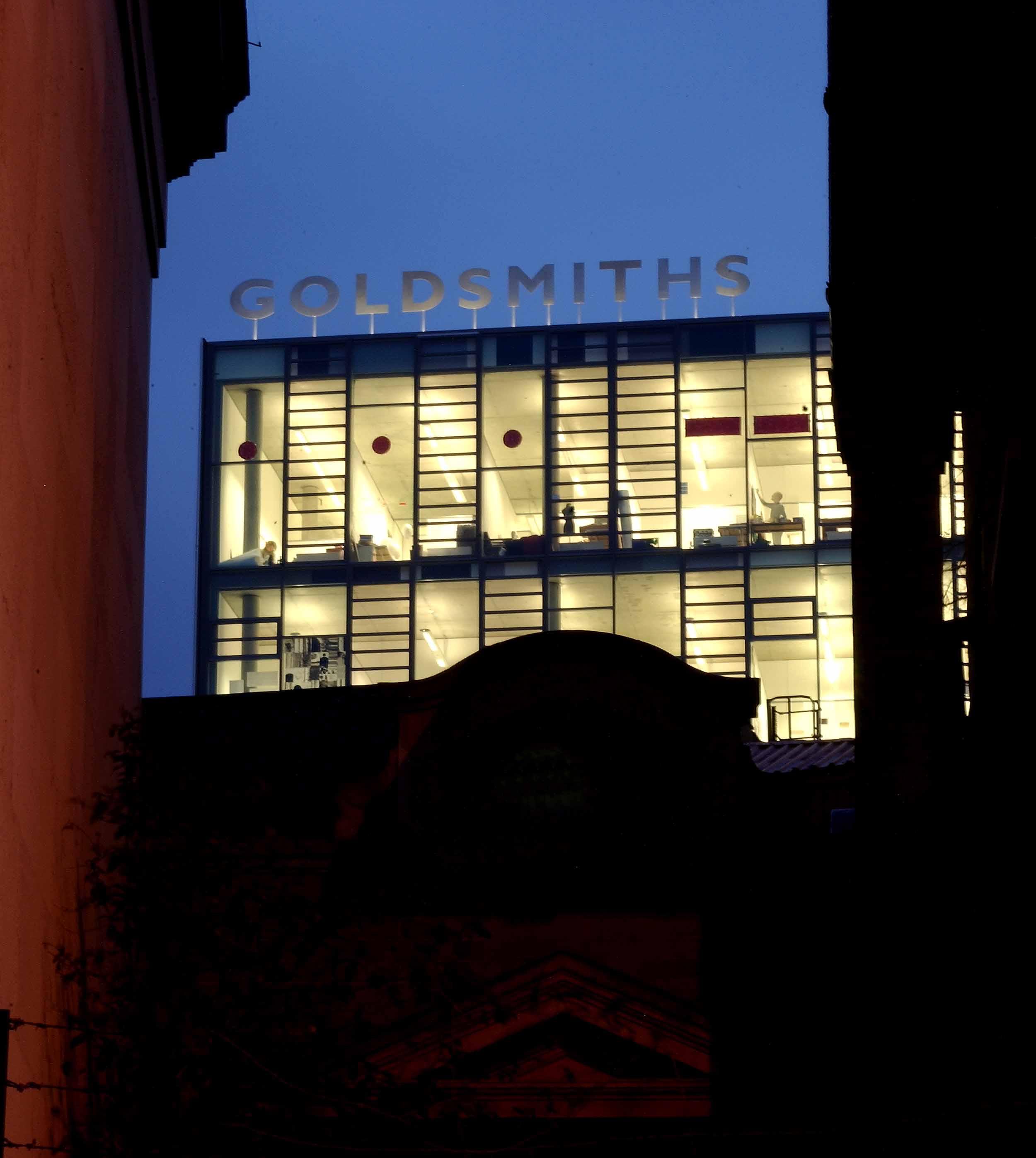 Goldsmiths College London Architect