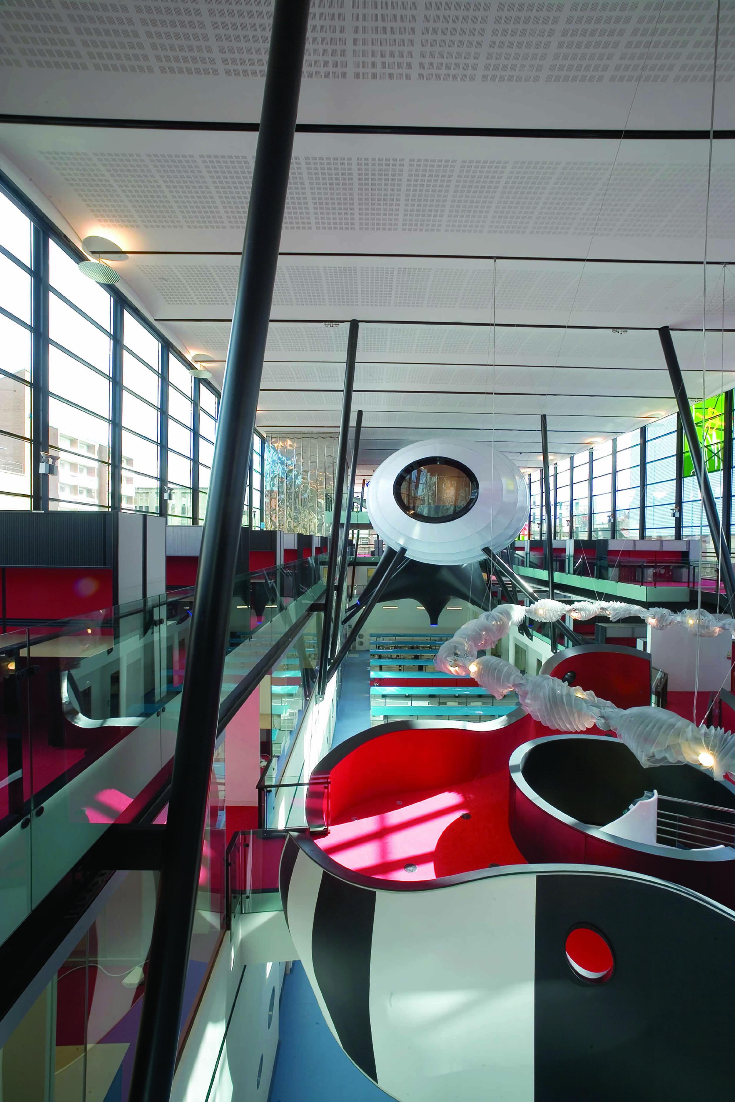 Blizard Building Interior Labs