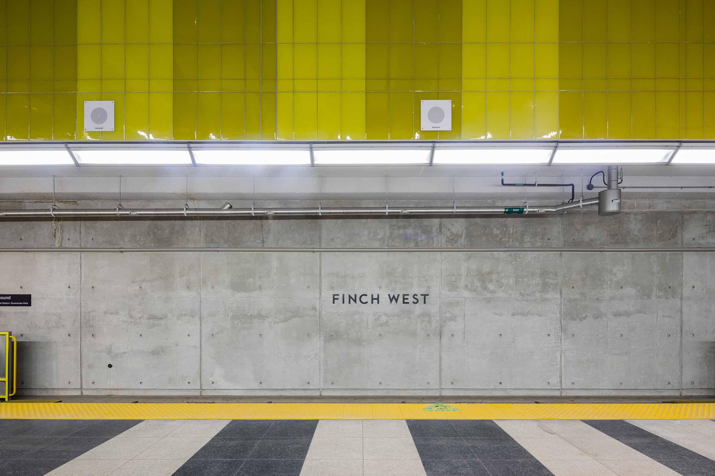 Finch West Station Platform