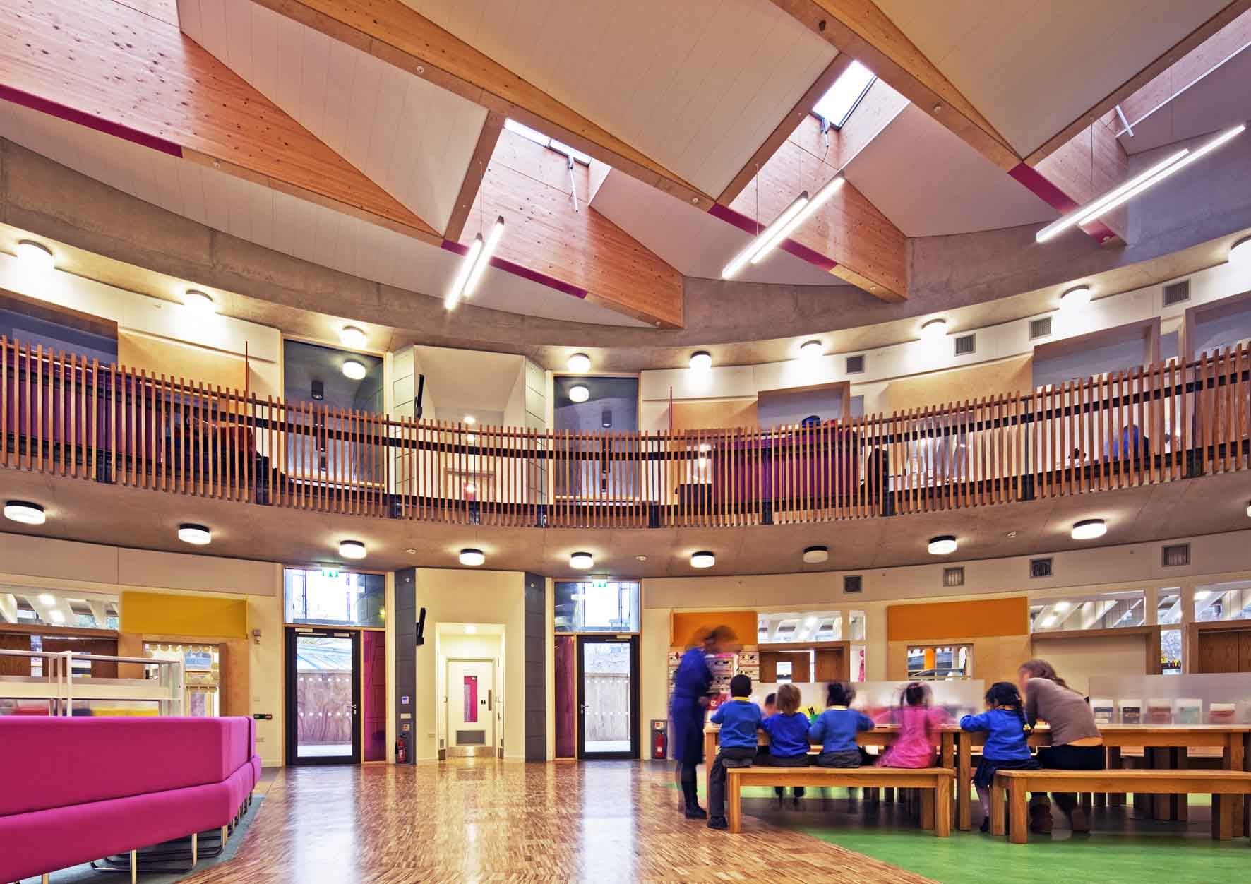 Faraday School Interior