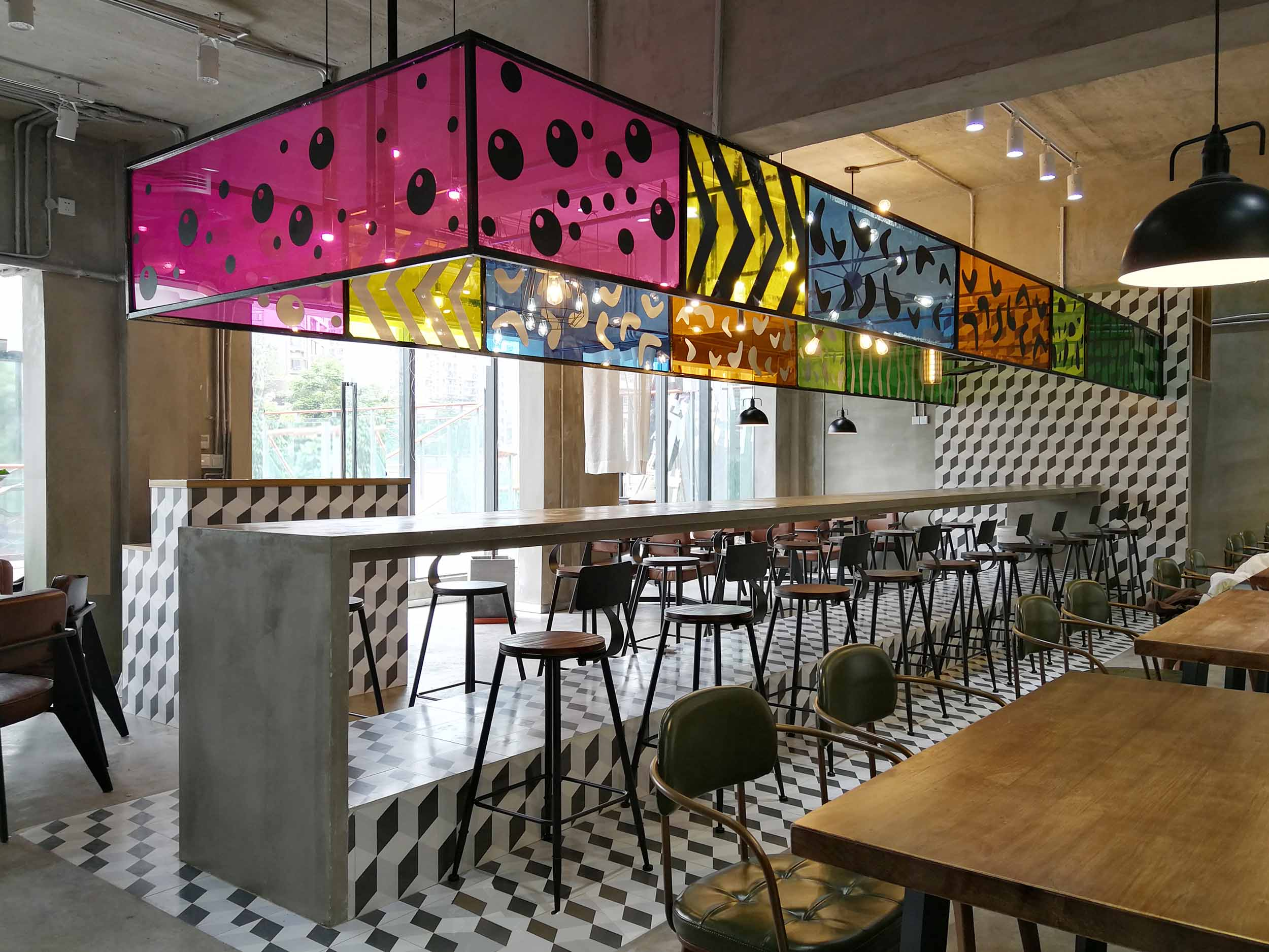 Colorful interior architects
