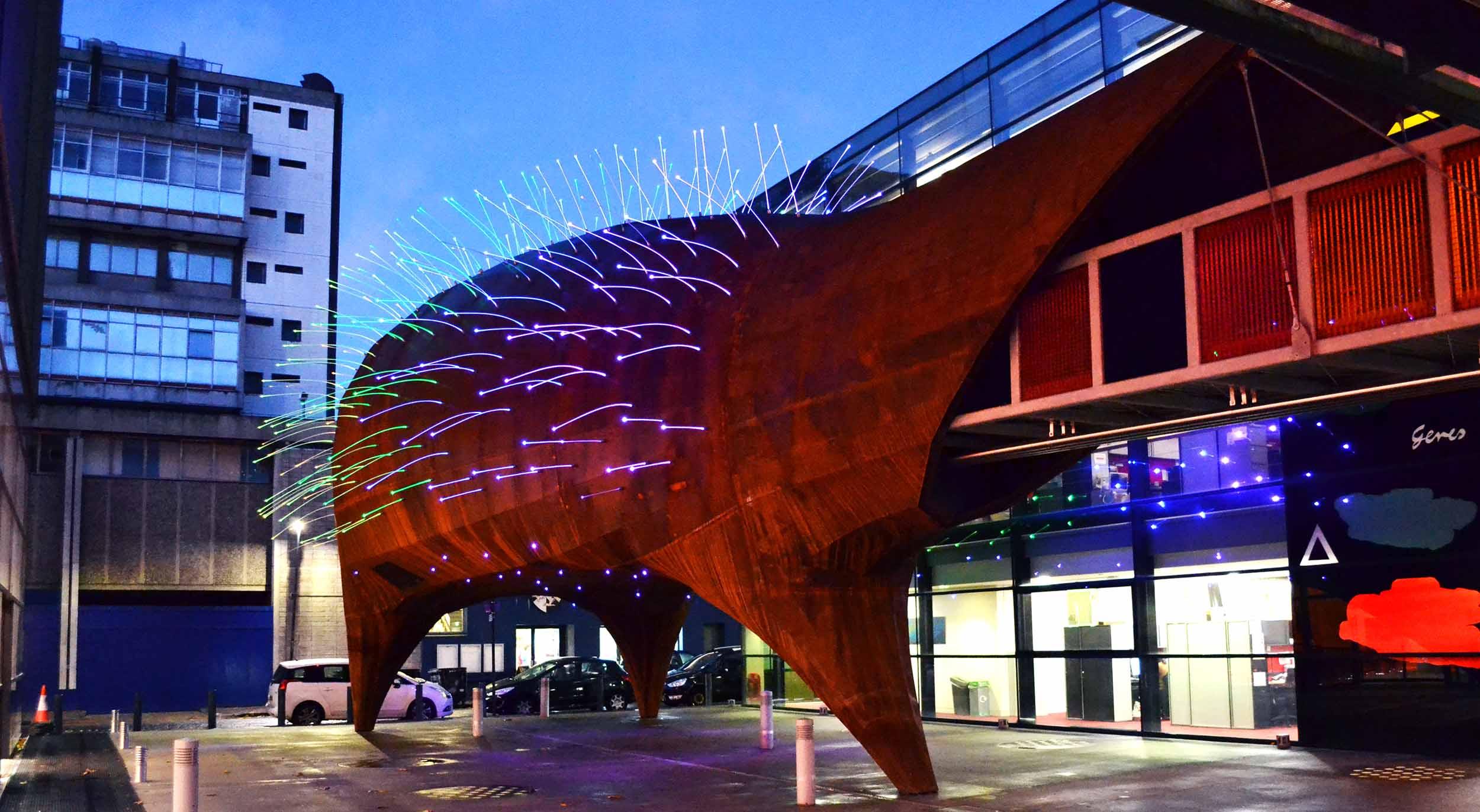 Neuron Pod - Sculptural Architecture