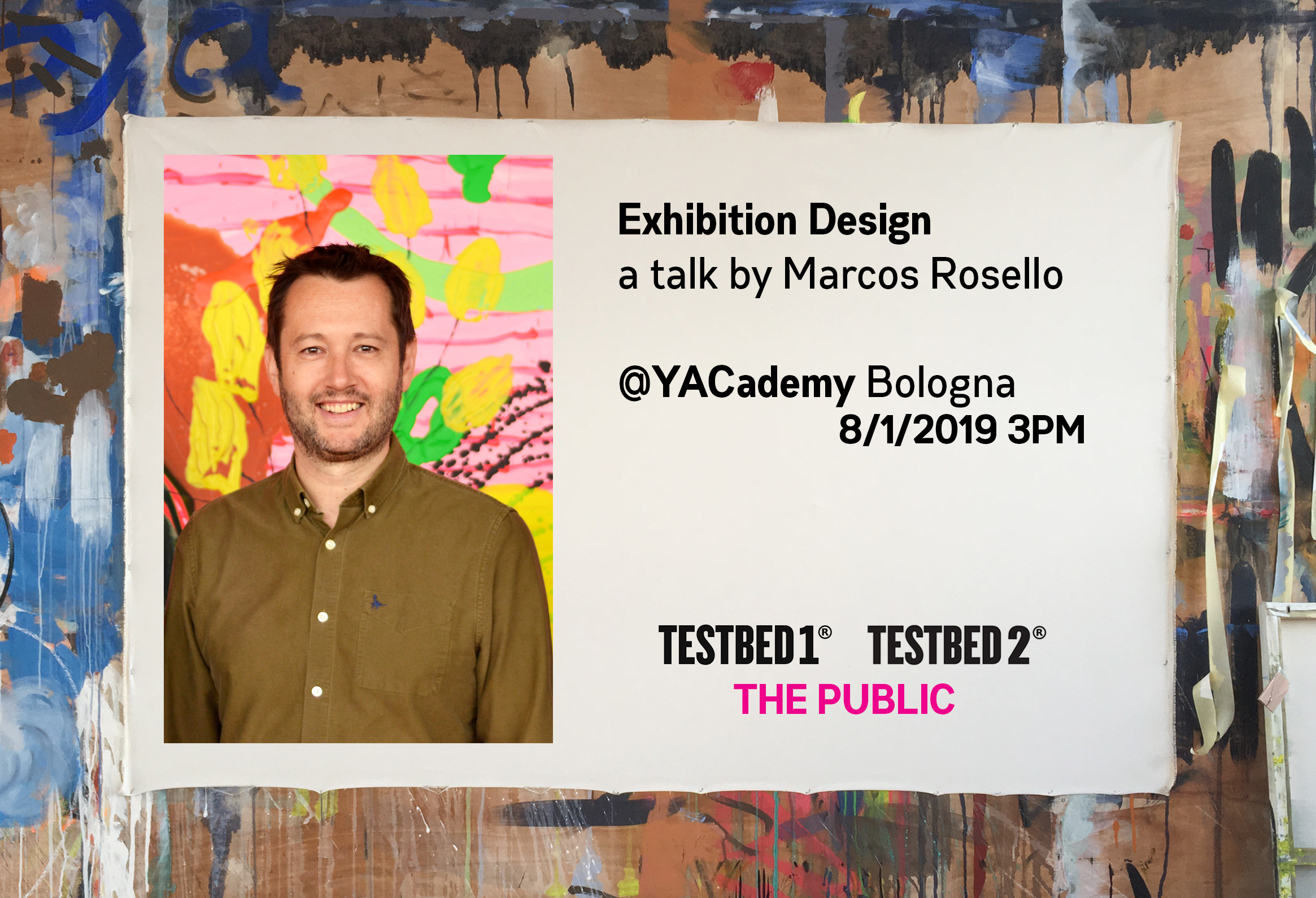 Architecture News - Marcos Rosello talks at YACademy on Exhibition Design