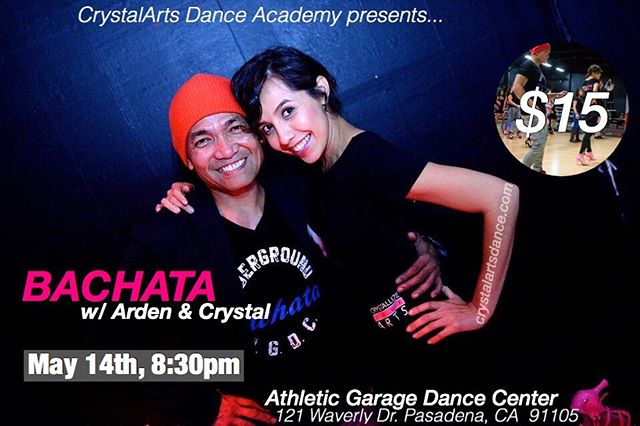Don't forget to join us for our special Bachata class w/ @djardster @crystallinaa !!!