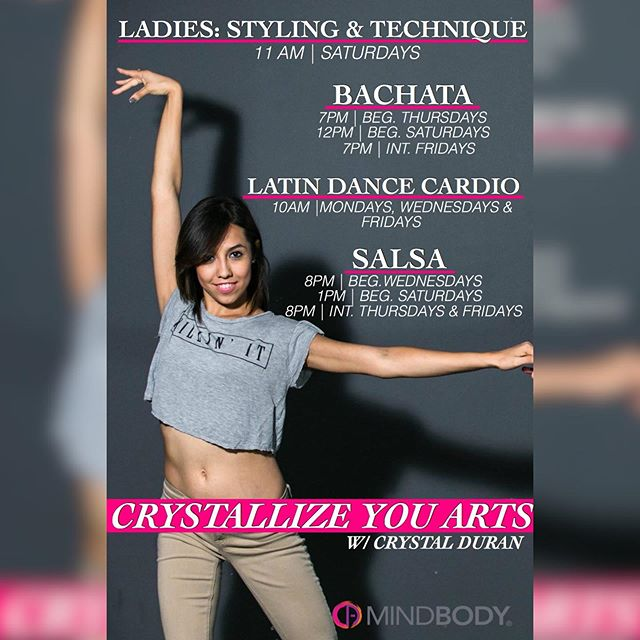 🚨 [SLIDE] NEW CLASSES ALERT Happening this week at CrystalArts! SIGN UP TODAY THROUGH OUR @Mindbody !! Come out and join us!✨ . For more information 📞(818)578-8417  WWW.CRYSTALARTSDANCE.COM