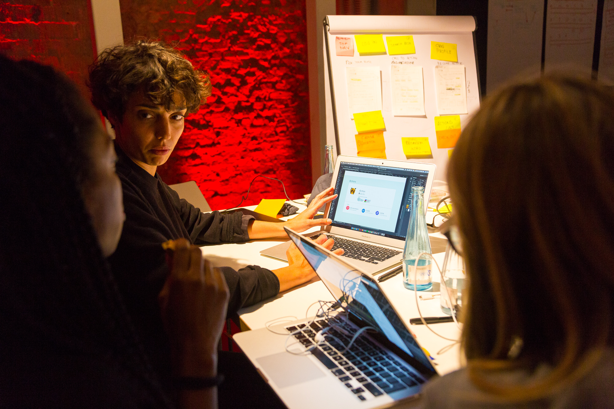 Using design thinking exercises to help others create fast prototypes and test them before they spend energy on the wrong idea. -