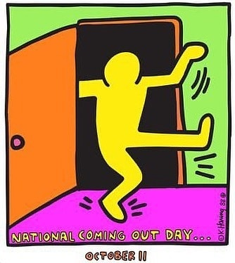 Happy National Coming Out Day! 🥳🎉🎈