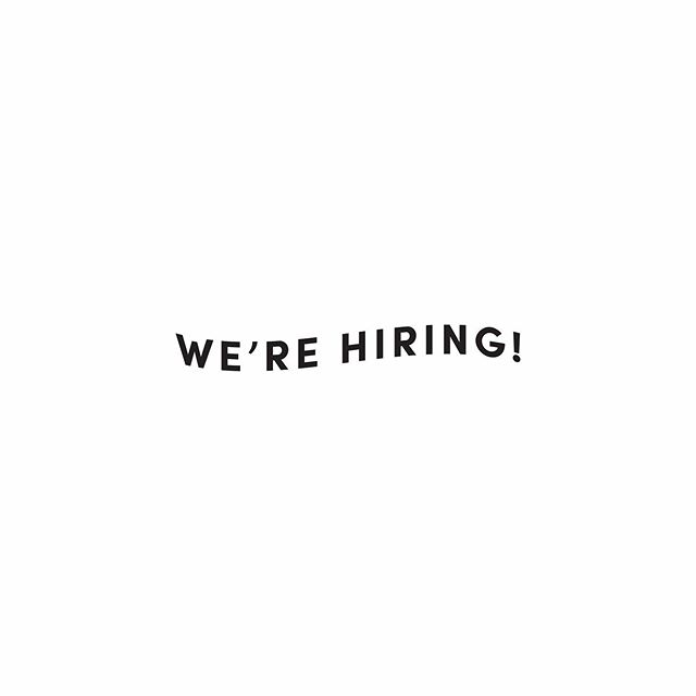 "We're looking for a bold, dynamic, intuitive storyteller skilled in photography to join our team of creatives ✨ Could this be you, or someone you know?  This position is part time and has room to grow with our brand.  You can apply on our website under our ""About"" section and select ""join our team"" to see if we're a good fit. Tag someone who might be interested 🙌"