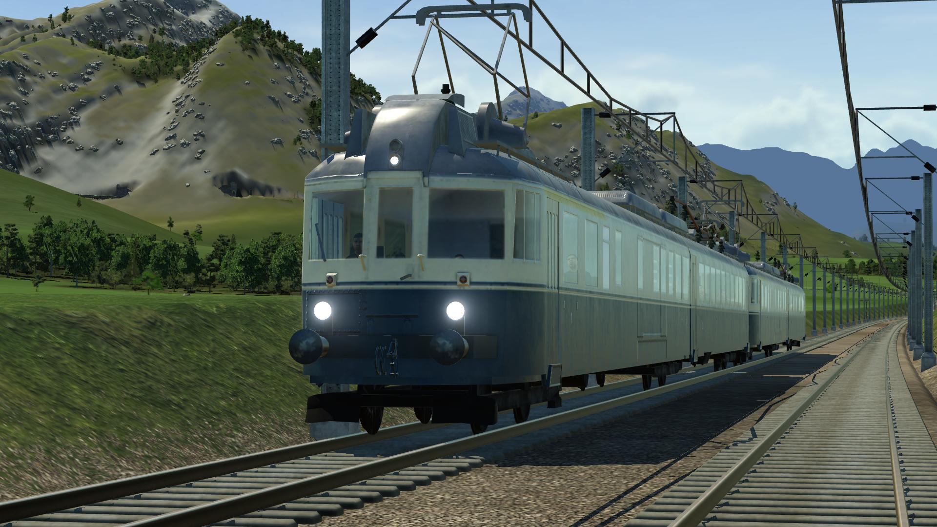 BLS Vehilce Set Models & Mod for Transport Fever