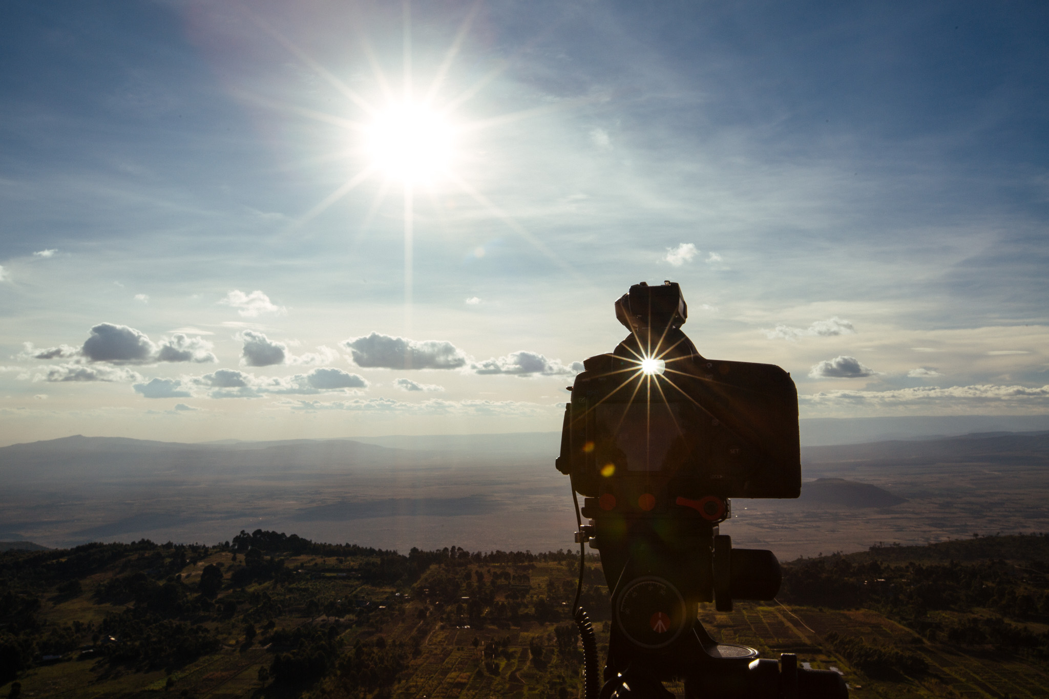 Shooting from the Ngong Hills and overlooking the Great Rift Valley.