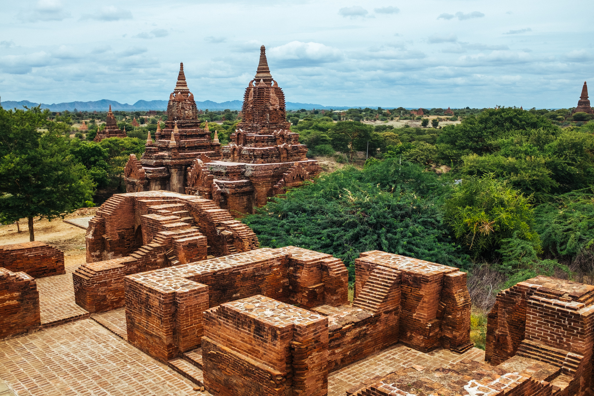 A short domestic flight will land you in Bagan - an ancient city that was once the capital of the Pagan Kingdom. The name Bagan is derived from Pagan.