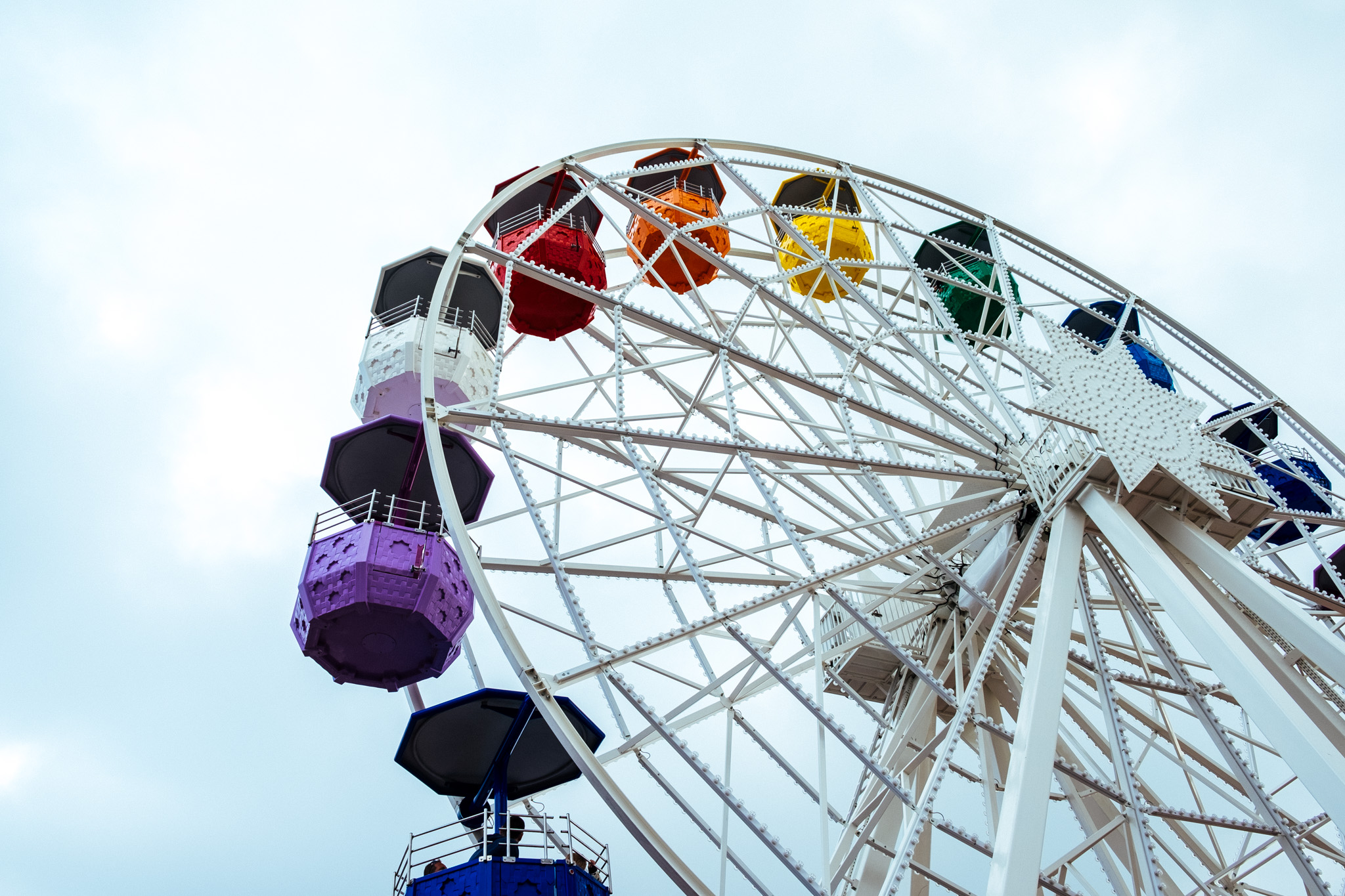 Tibidabo Amusement Park . Tibidabo . Barcelona