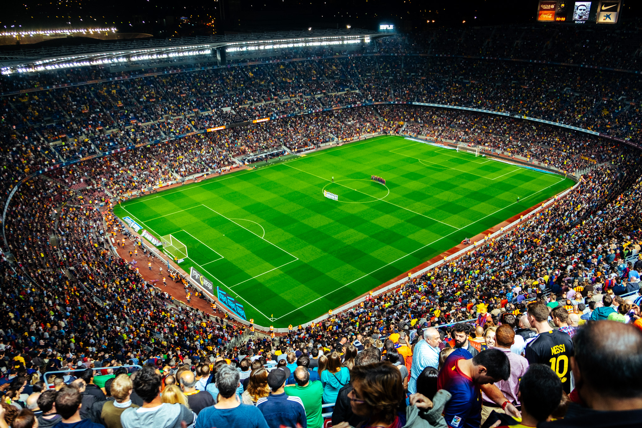 No trip to Barcelona is complete without watching a game at Camp Nou - home to FC Barcelona and the largest stadium in Europe. It can house over well over 99000 fans! This match was between FC Barcelona and Celta Vigo and to my disappointment, Barcelona lost the match this time round.