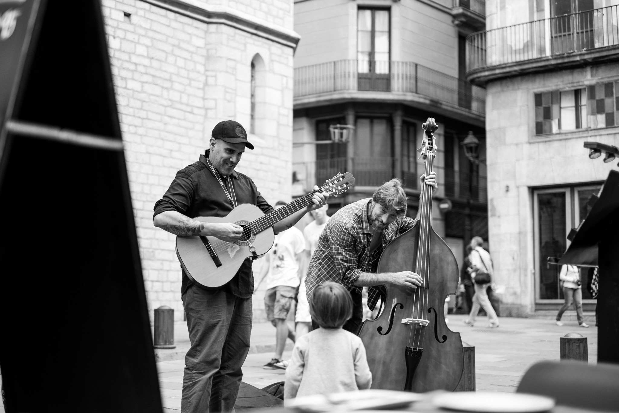 There's literally music at every corner you turn…. Music that even the little ones can enjoy.