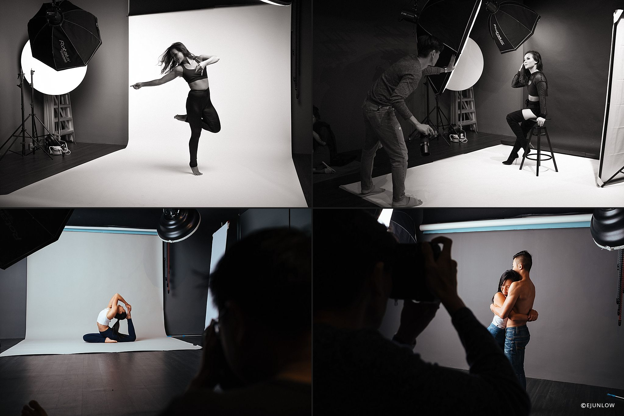 Behind The Scenes during workshops