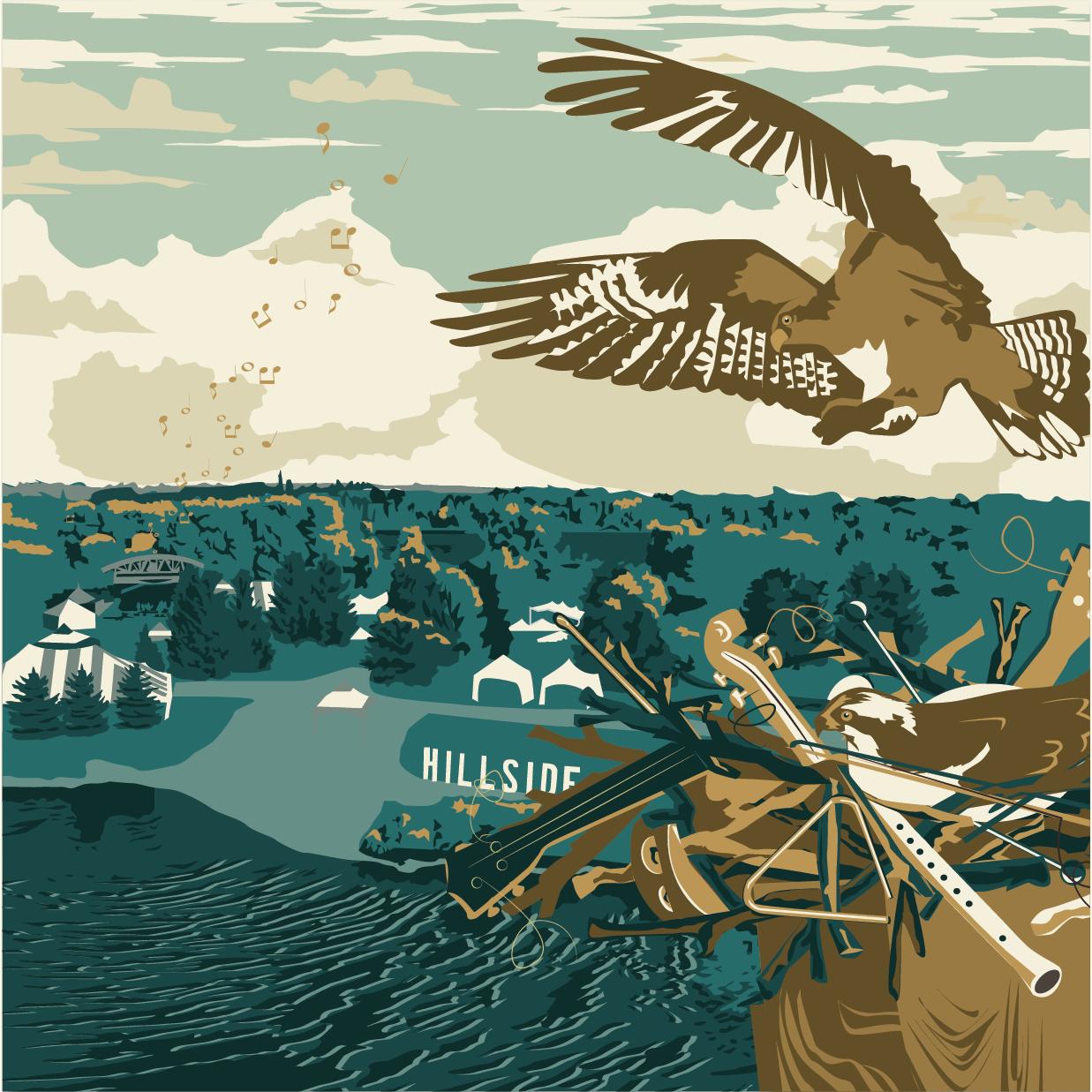 Hillside | Osprey