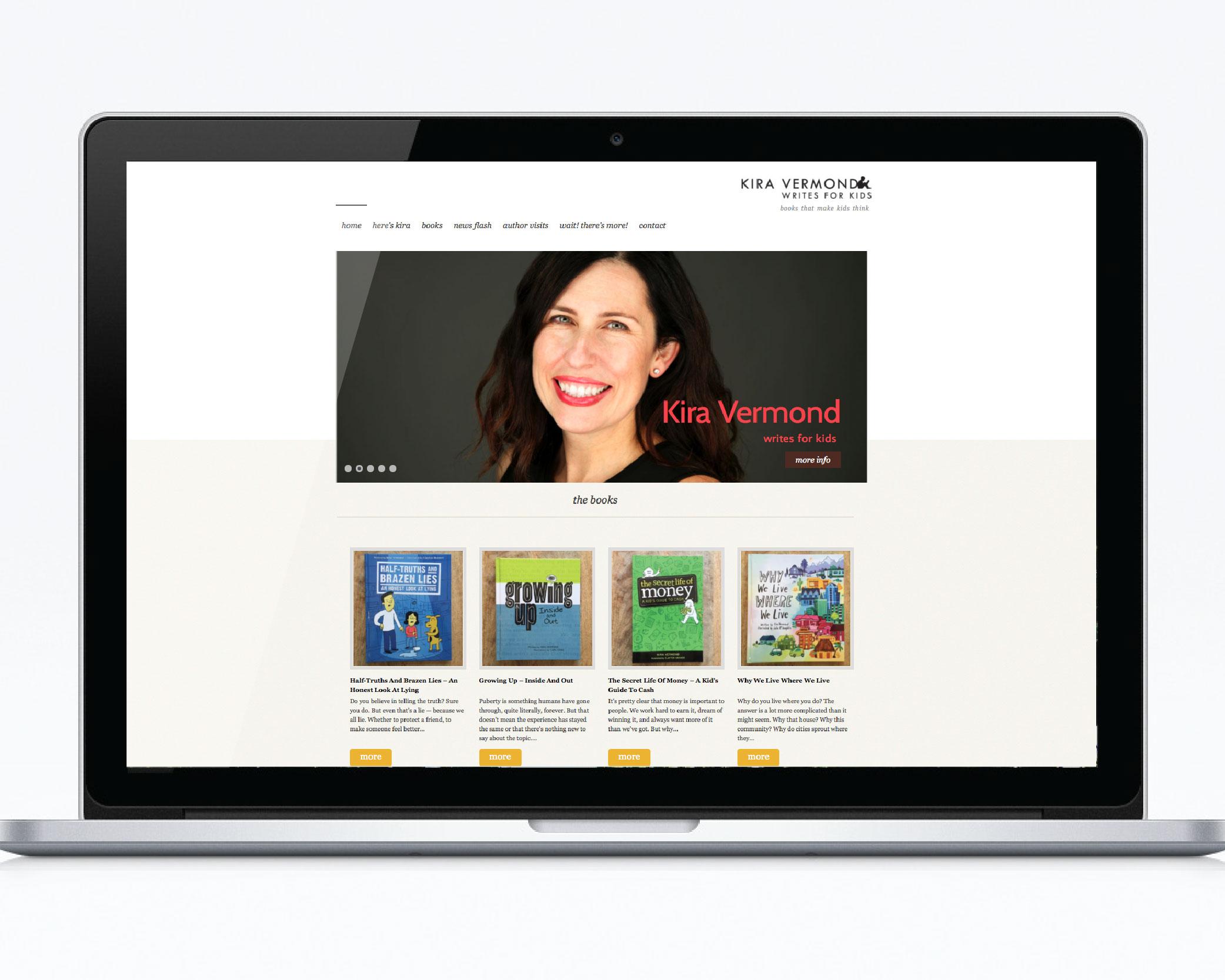 Kira Vermond site