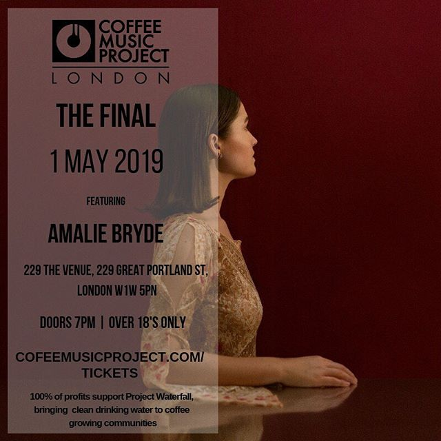 Very excited to challenge myself and for the evening. The final is very diverse in genre and I have no idea what is going to happen! So stoked to see the other contestants as well. Despite it being a competition, and it's going to be tense, it's going to be a very loving vibe!!! Please come supporting the cause and wishing me luck ❤️ The countdown begins! You can use the early bird code EB01 to receive 30% off advance tickets until 14 April #linkinbio 1 May at @229.london @coffeemusicproject @project_waterfall @ellehcoruk @sebcollective . . . . . #projectwaterfall #coffeemusicproject #sebcollective #musiccompetition #foragoodcause #savelives #charityevent #charityconcert #musicevent #musicconcert #londonmusic #londonevent #londonmusicevent #229thevenue #goodmusic #sundaymusic #musicnews #concertannouncement #lovemusic #lovelivemusic #livemusic