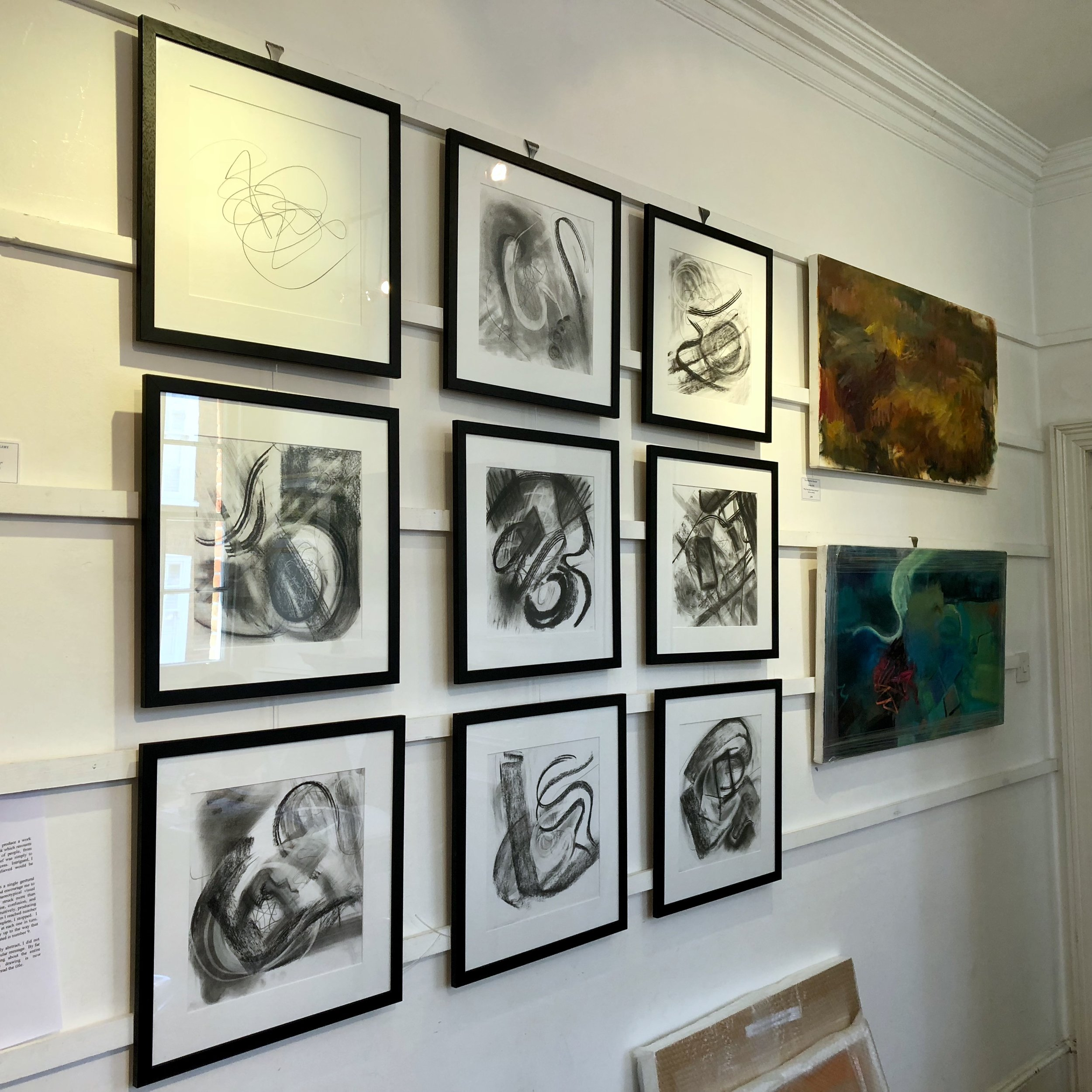 Annunciation Studies - Exhibited at the Minster Gallery, 2018