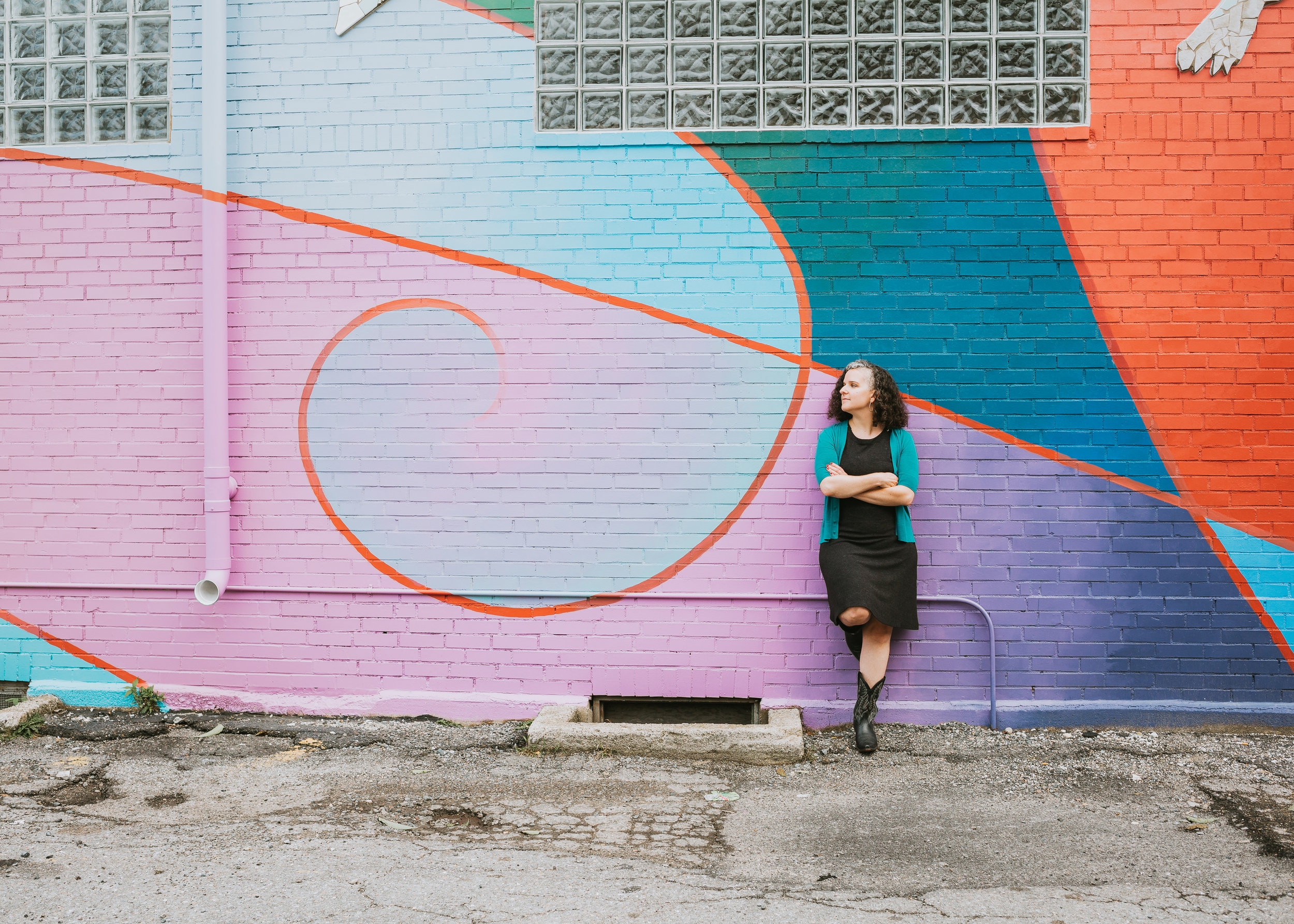 Boston Photographer: Colorful Personal Branding