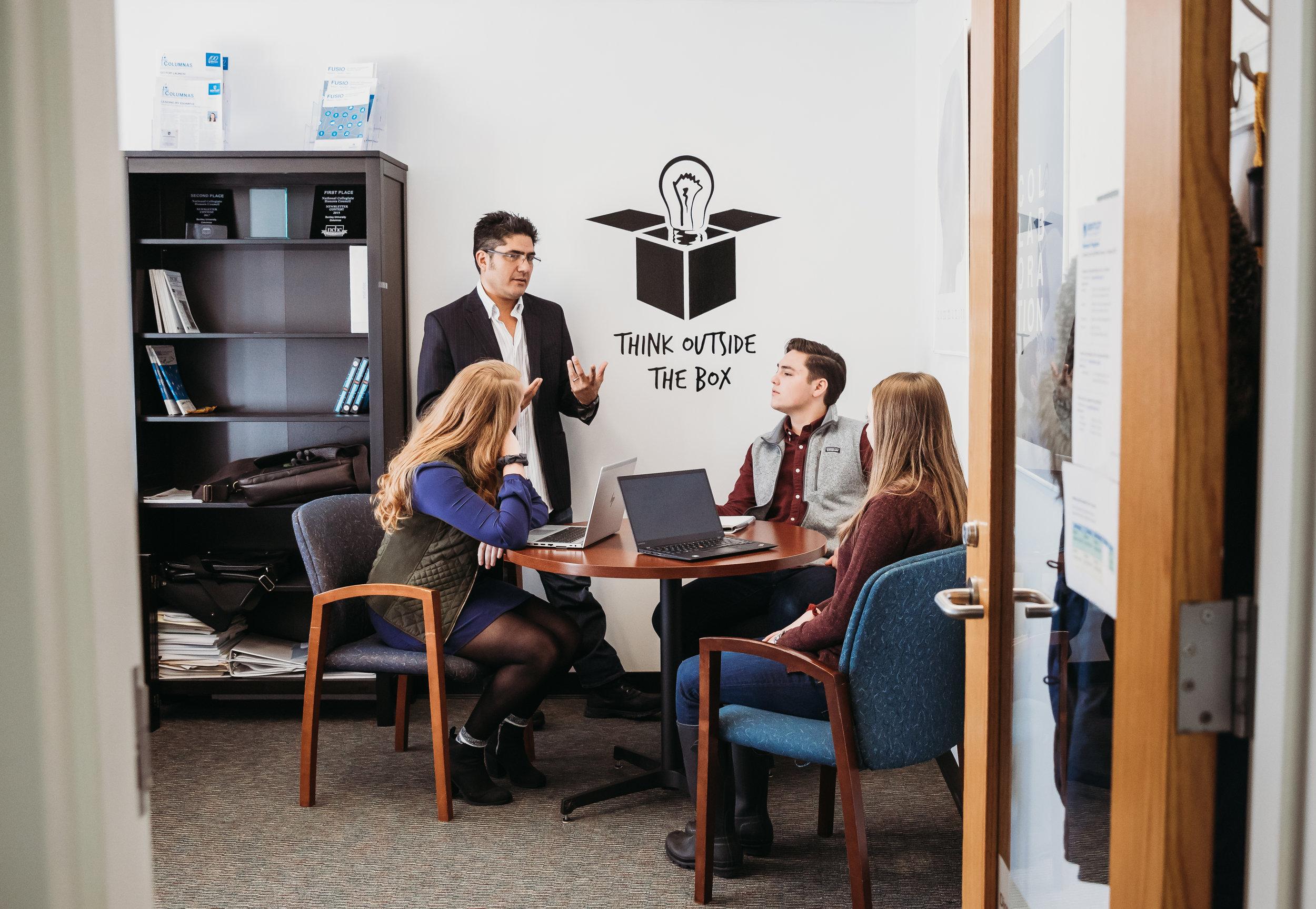 Boston Commercial Photographer Higher Education