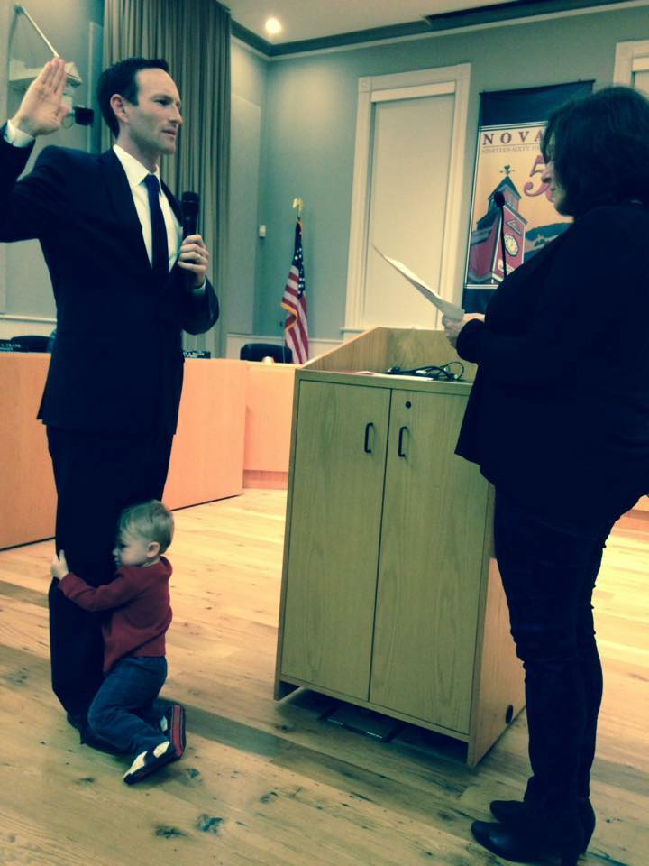 City Council Swearing-In (With Cal)