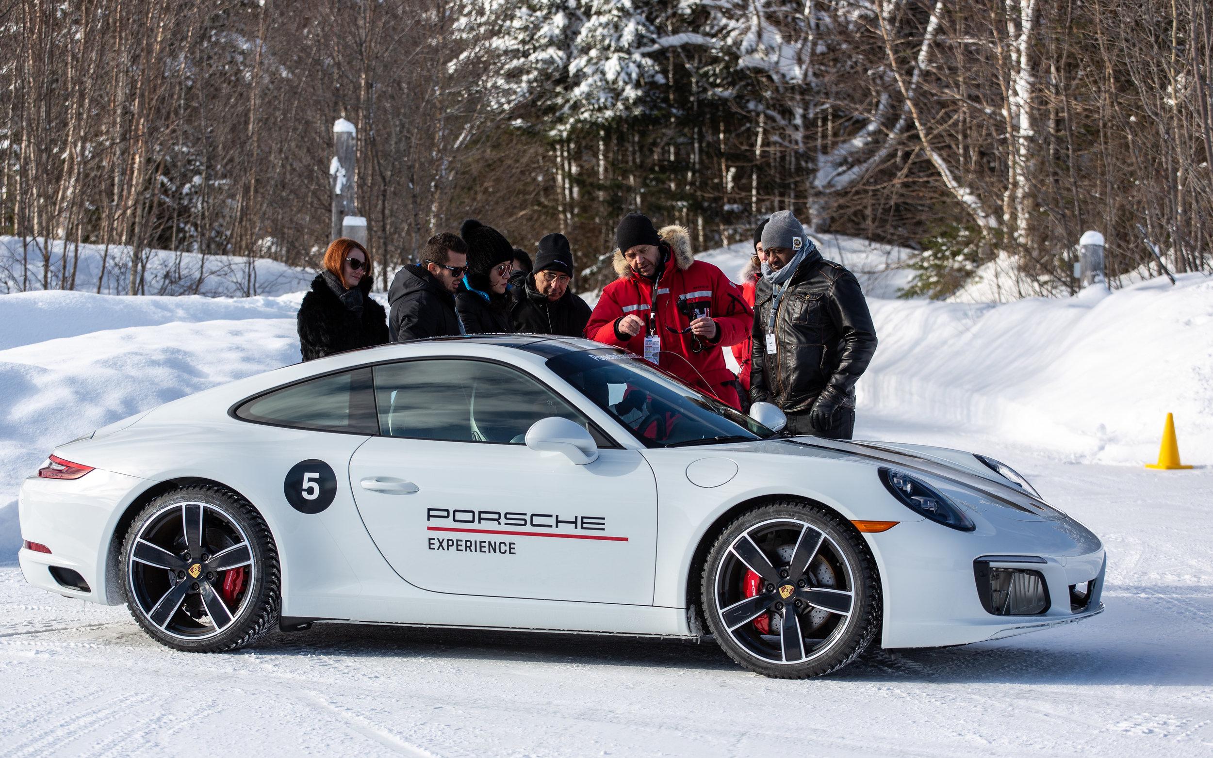 Porsche Ice Experience 2019