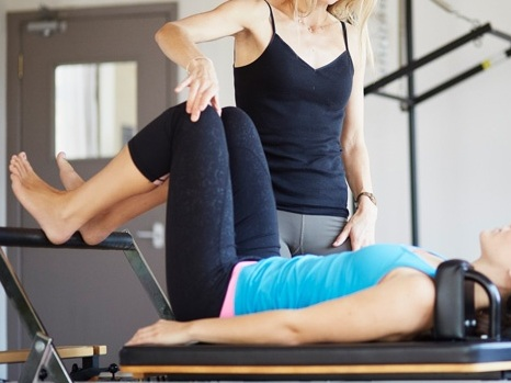Physical Therapy pilates -