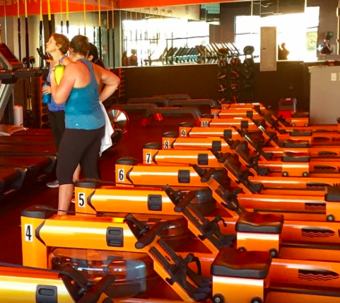 My first Orangetheory experience - I conquered one of my greatest fears: I went to my first Orangetheory class.