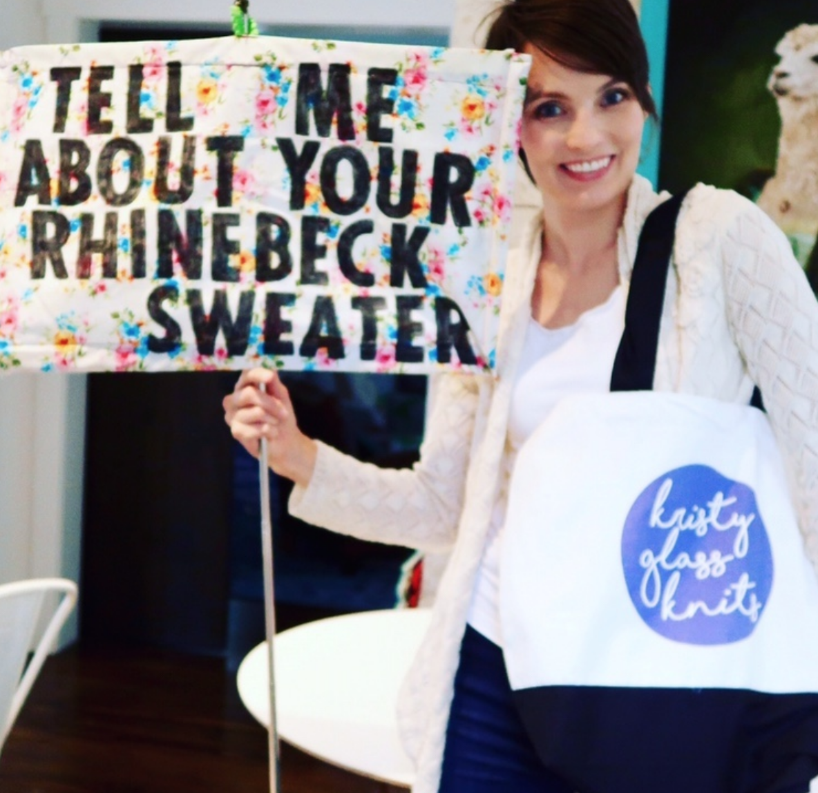 Tell me about your Rhinebeck Sweater! - Every year, knitters from around the world knit their best for NY Sheep & Wool, aka