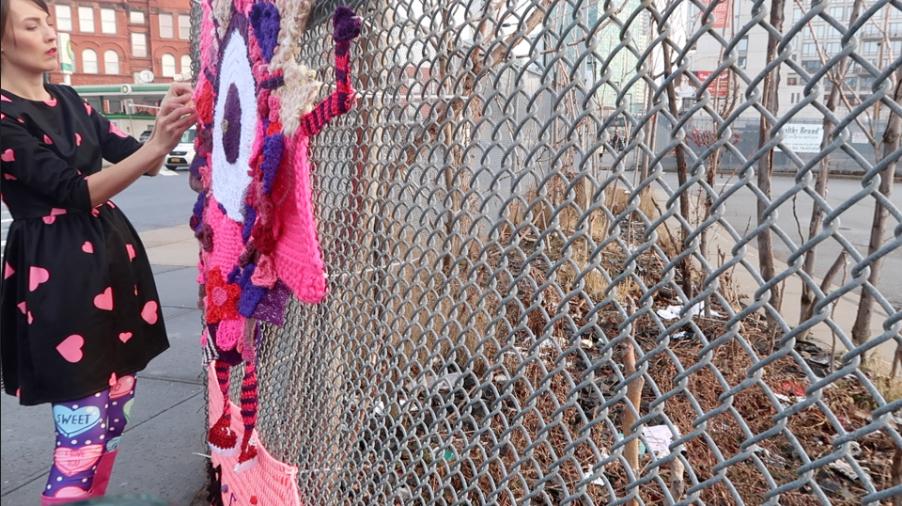Yarn Bombing -