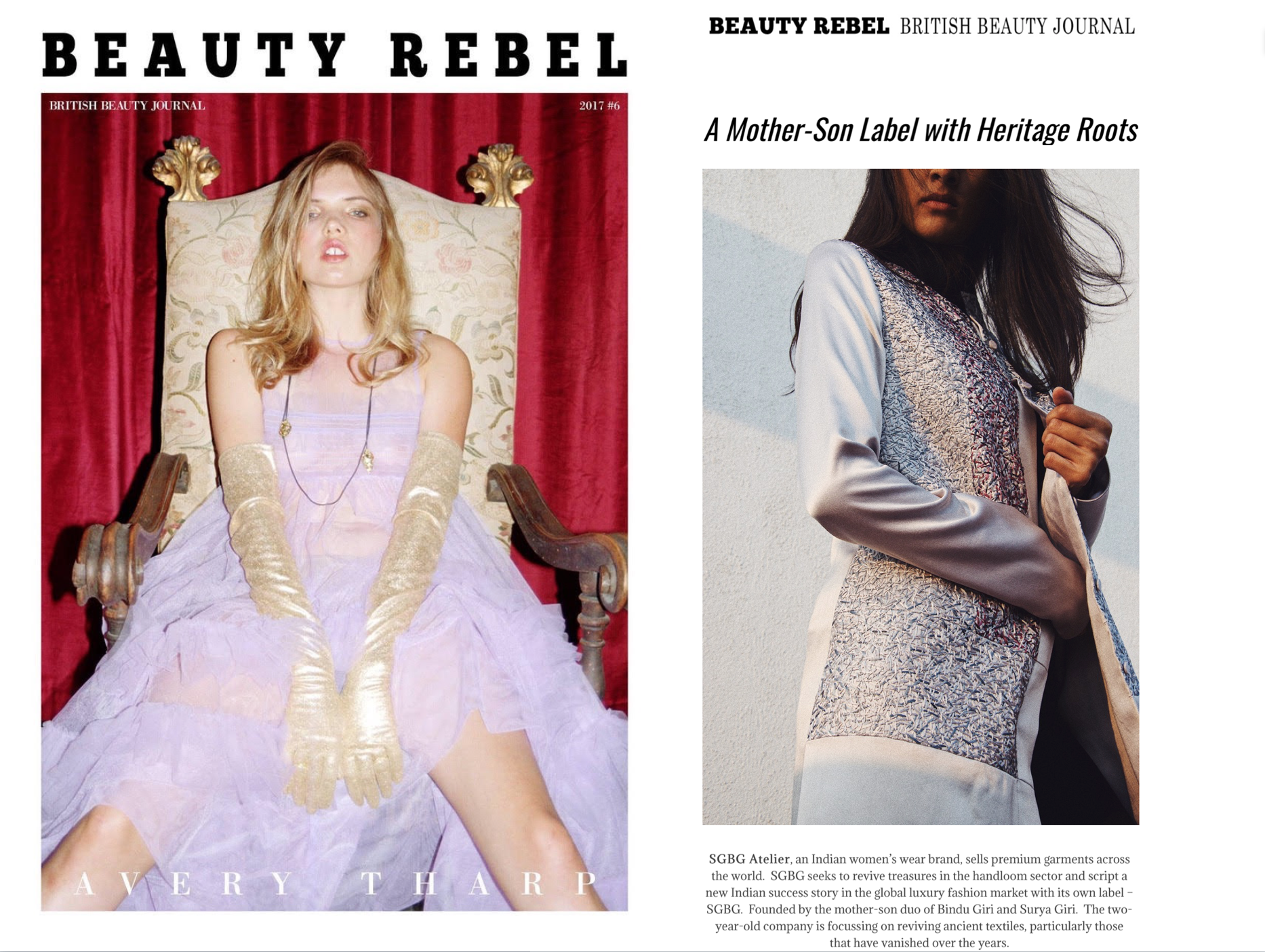 Beauty Rebel Magazine // FEATURE