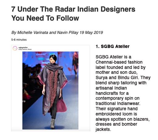 Harper's Bazaar Singapore May 2019 FEATURE // Online