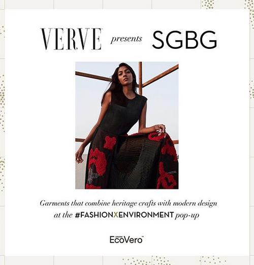 Verve India #FashionxEnvironment Pop-Up June 2019 // PANEL