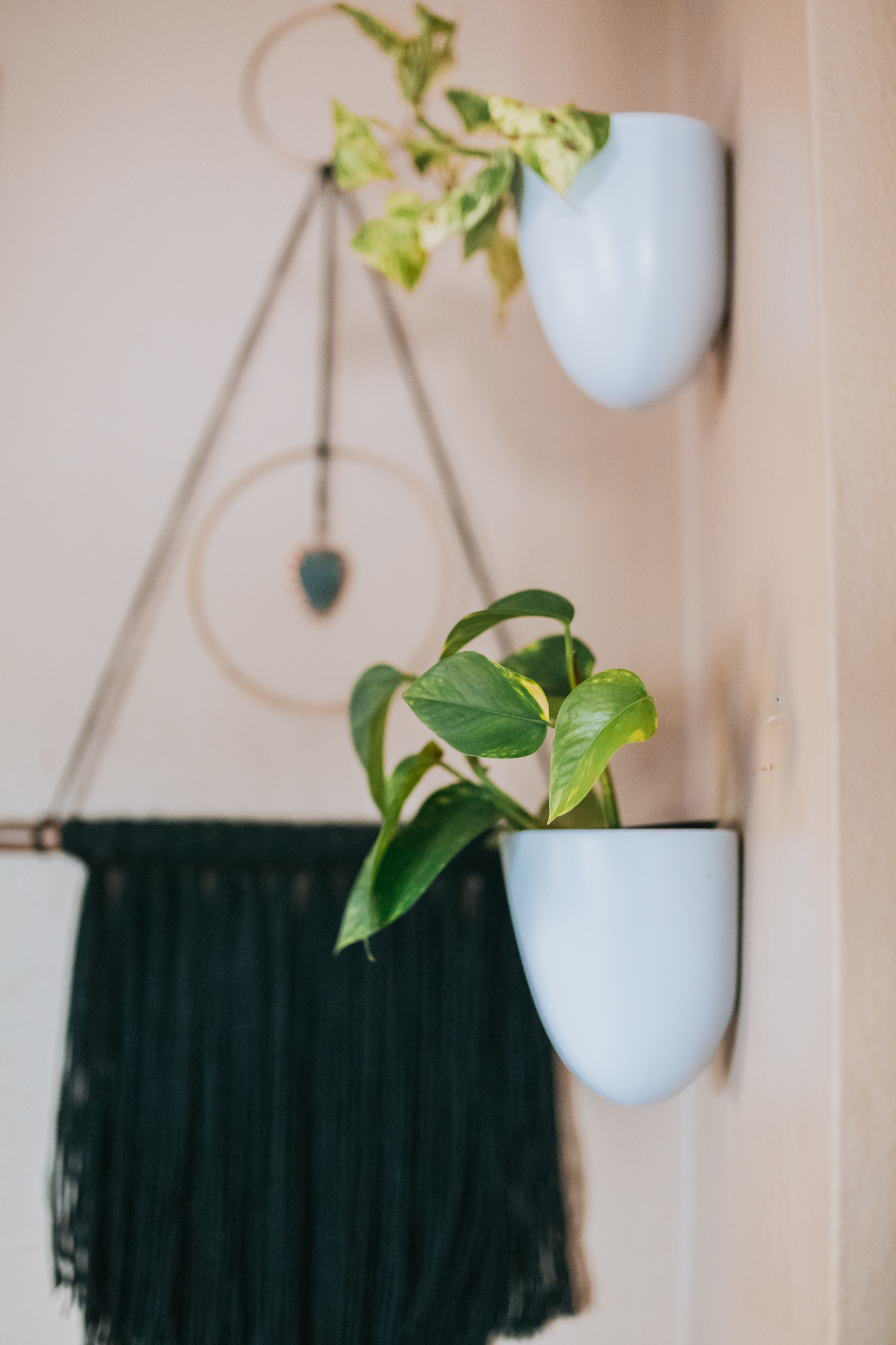 Melamine Wall Planter Hangers