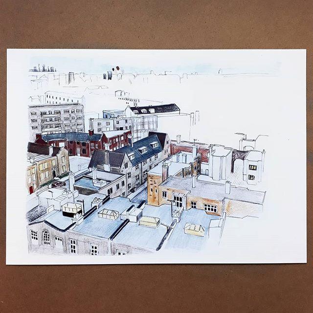 Sketching rooftops... #workinprogess  #urbandrawings #citydrawings #drawingbuildings #skyline #illustagram #illustration #rooftops #urbansketching #skylinedrawing #citysketching #pencildrawings
