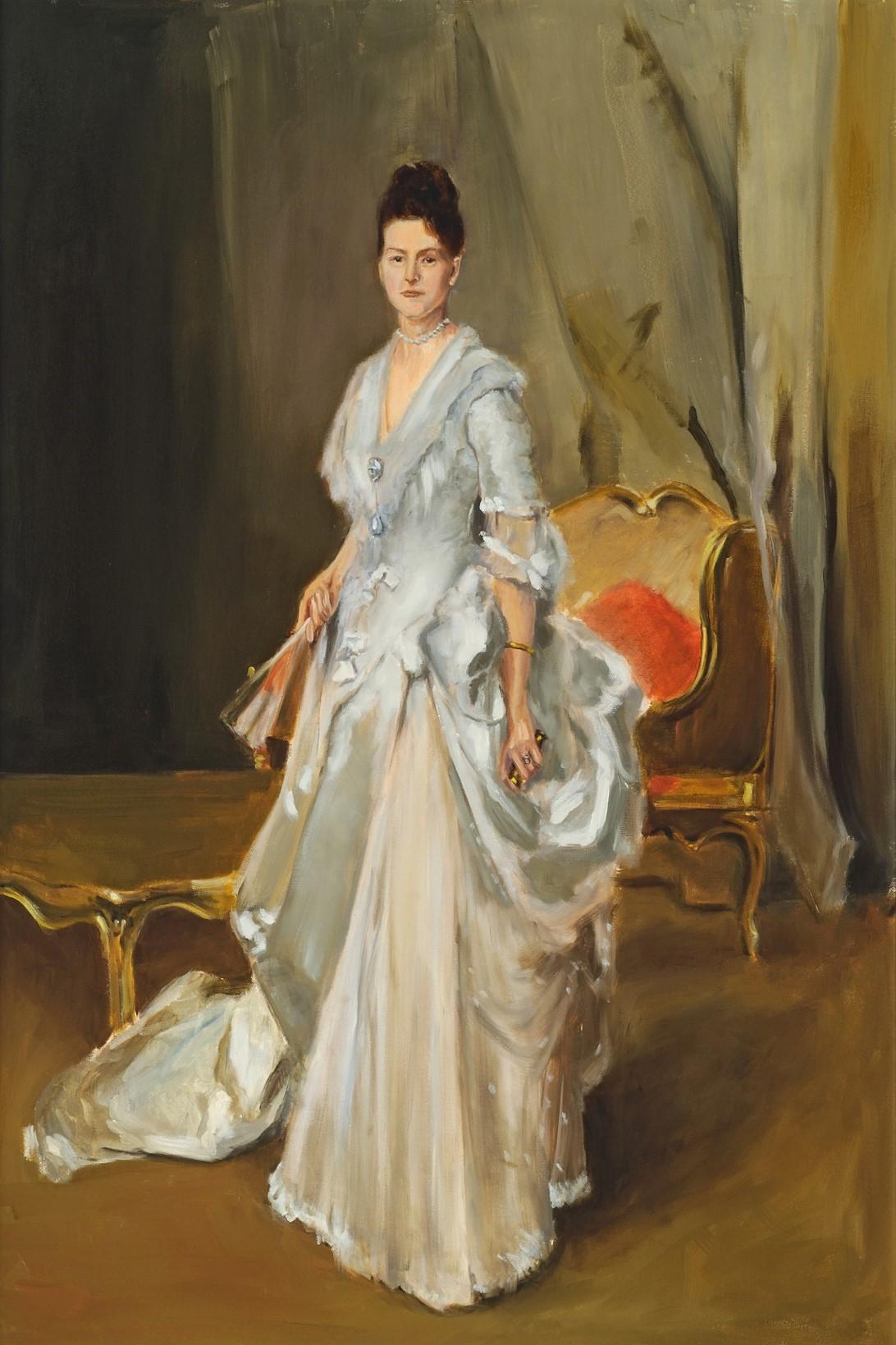 Copy of John Singer Sargent's  Margaret Stuyvesant Rutherford White