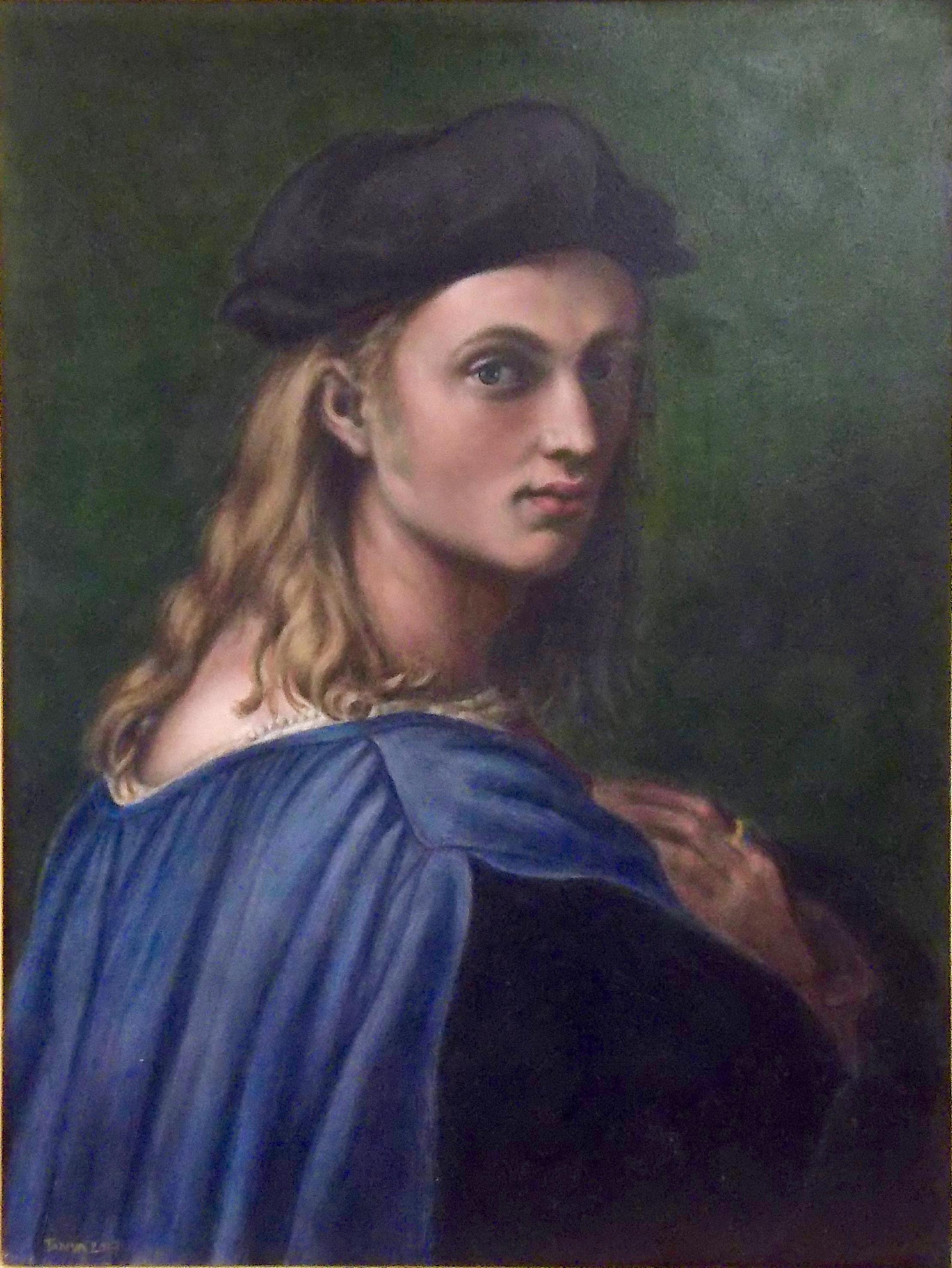 "Copy of Raphael Santi's  ""Bindo Altovitti"""