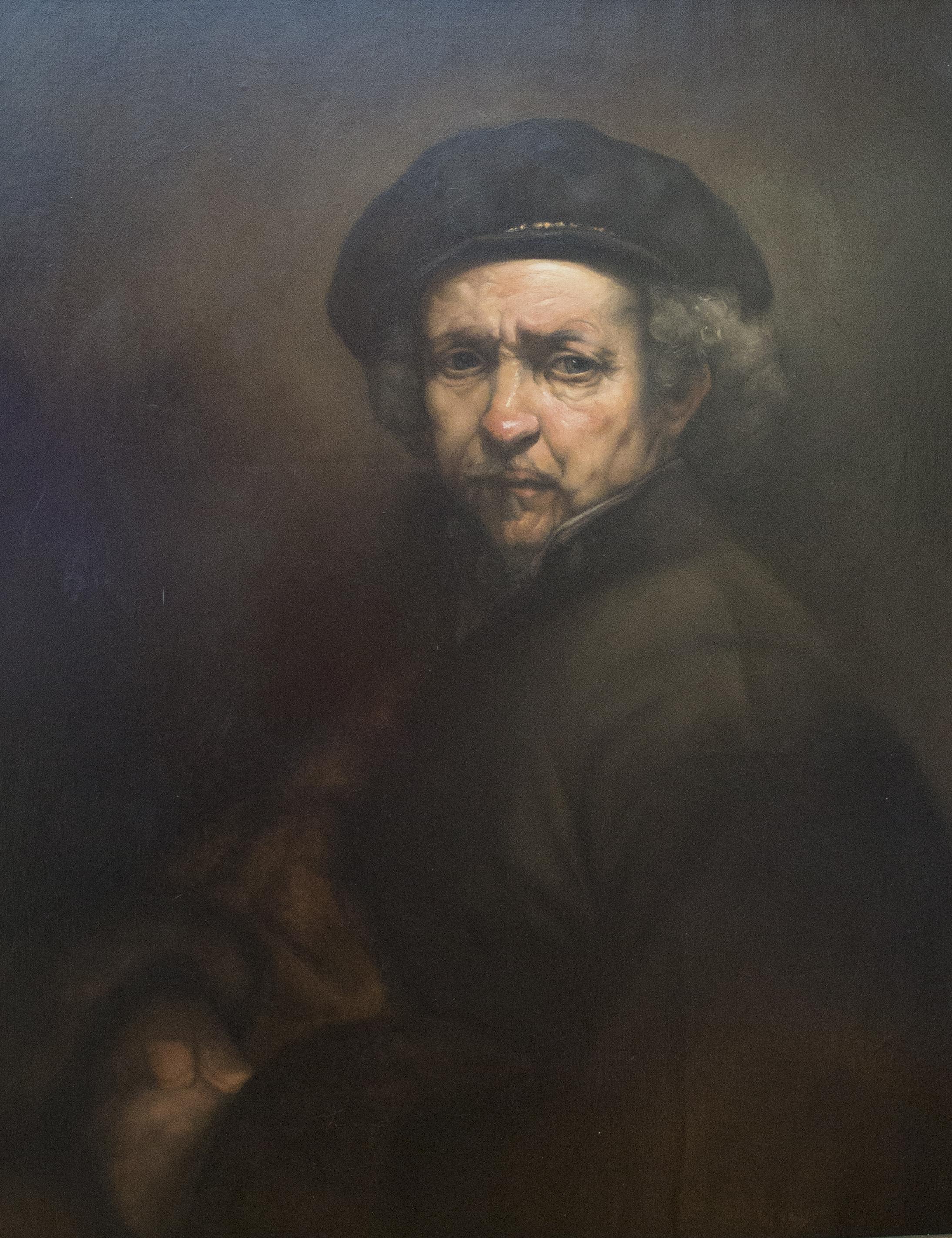 "Copy of Rembrandt van Rijn's  ""Self Portrait"""