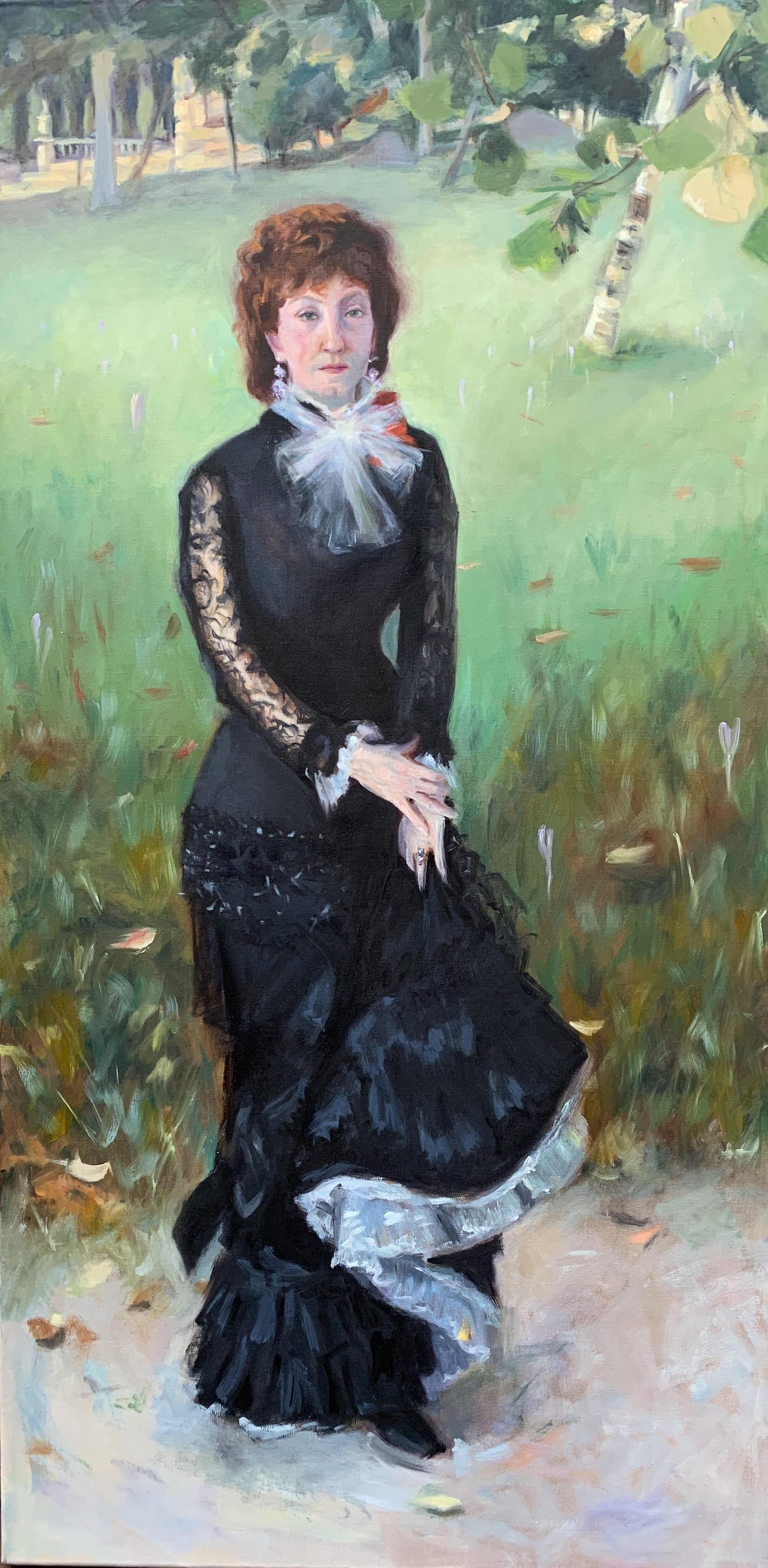 Copy of John Singer Sargent's Marie Buloz Pailleron (Madame Edouard Pailleron)