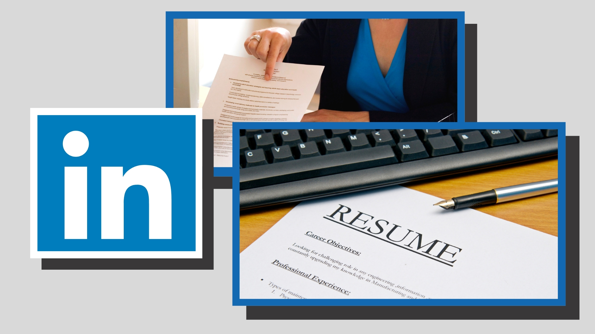 Services offered by Jessica Visek, certified resume writer with Your Resume Partner.