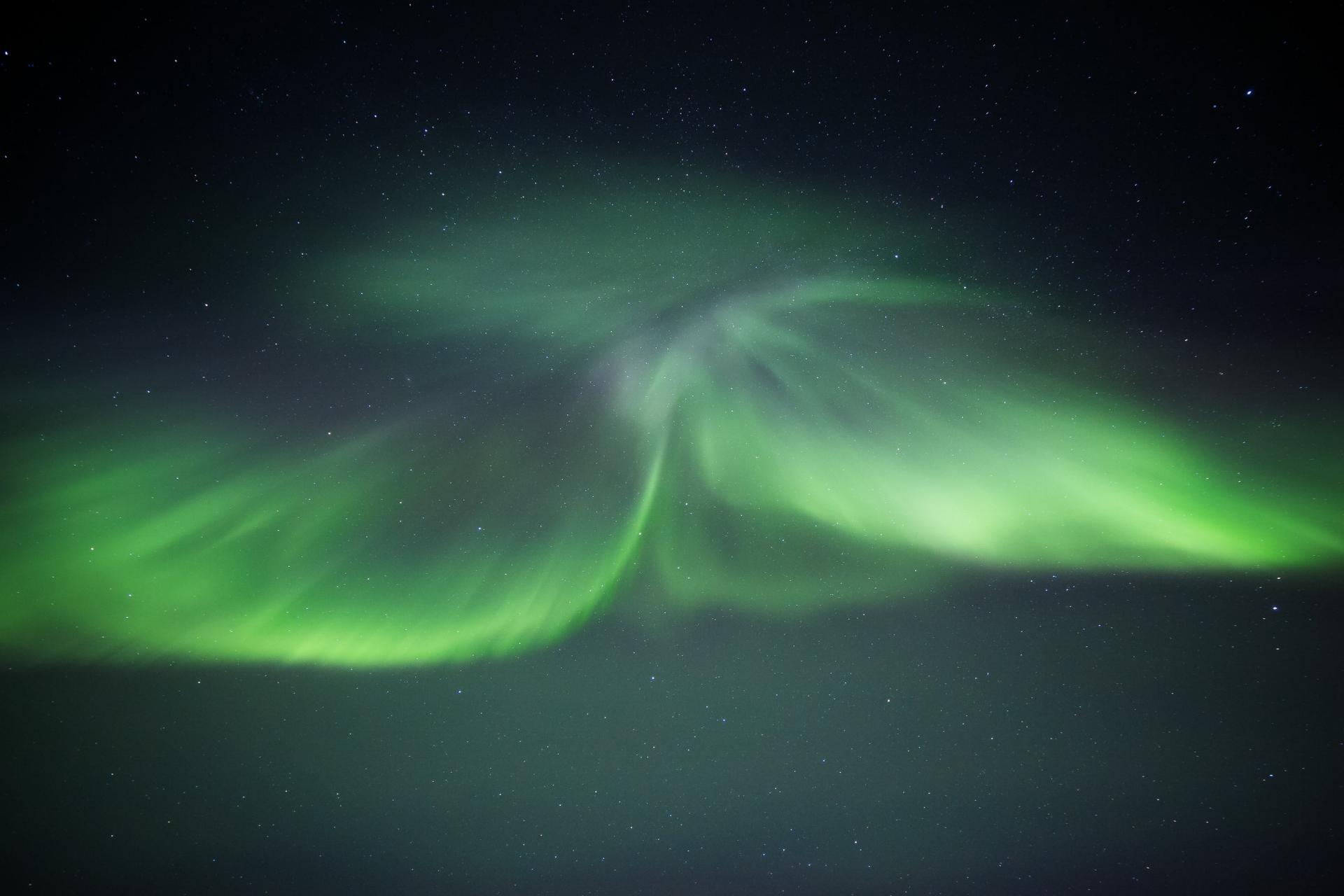 Aurora Close-Up