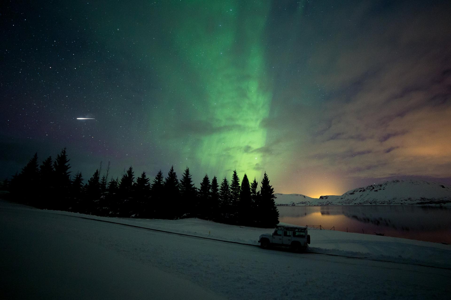 Þingvallavatn Aurora