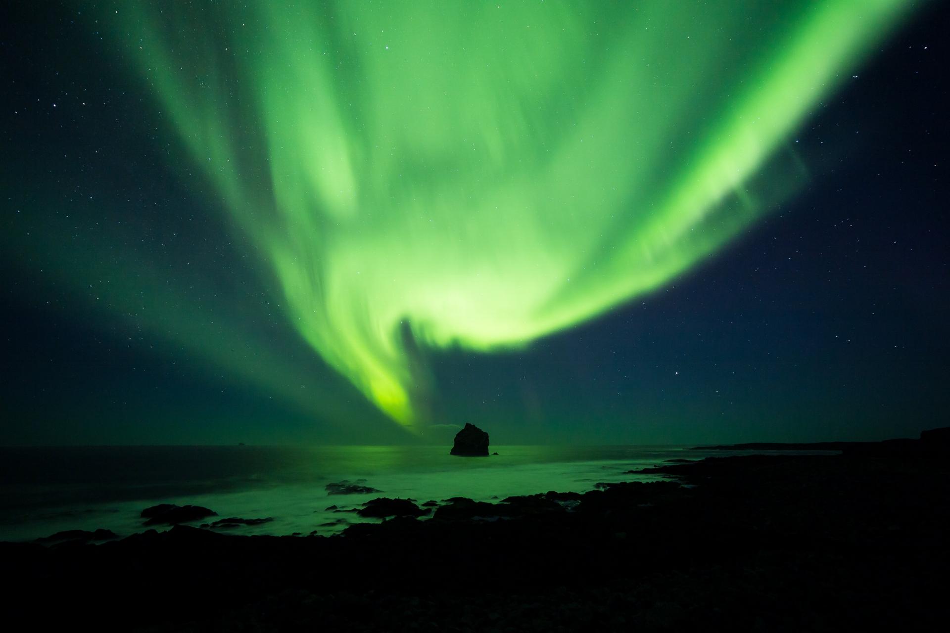 Reykjanes Aurora