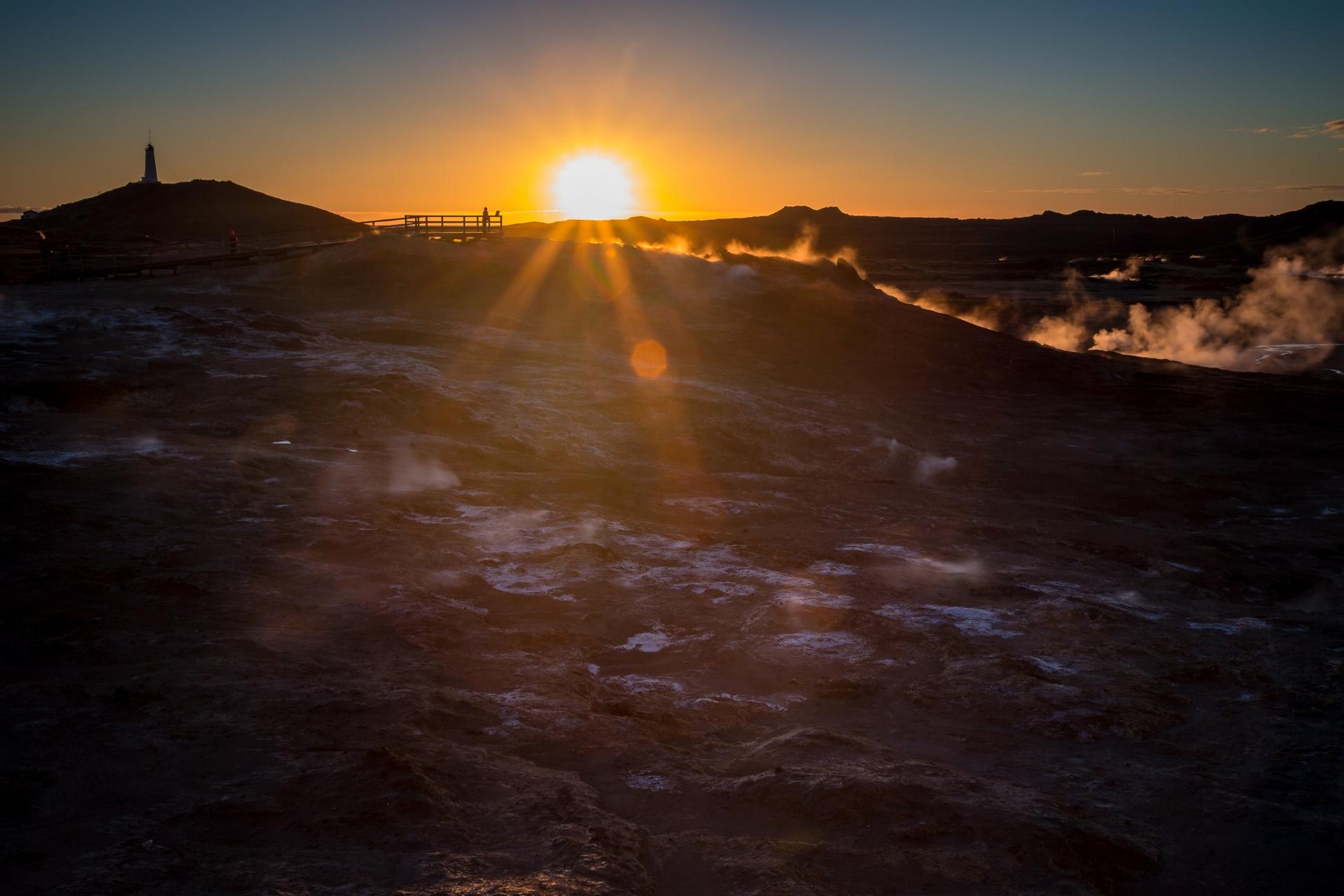 Reykjanes Sunset