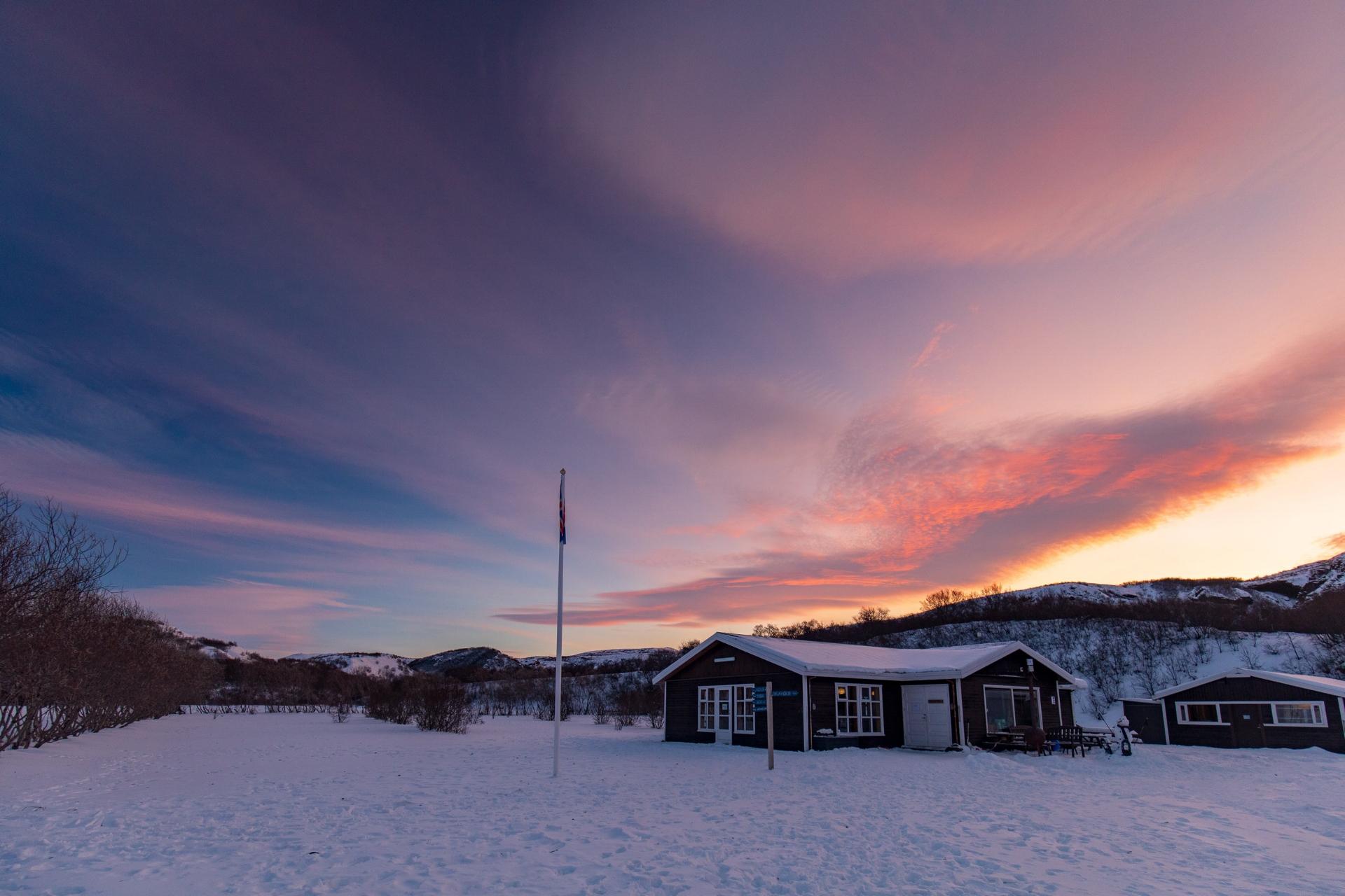 Copy of Sunrise over Húsadalur