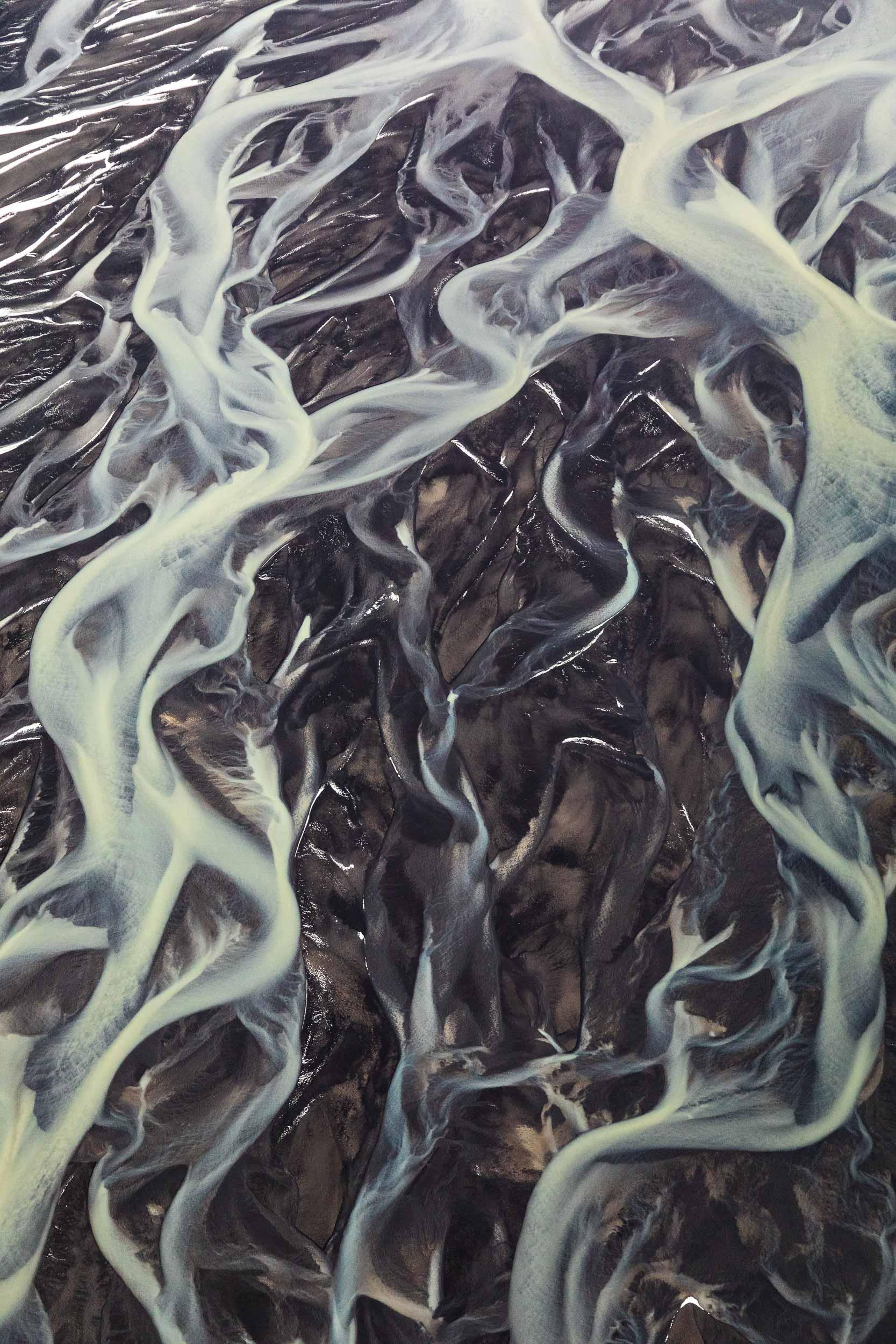 Tungnaá River Patterns